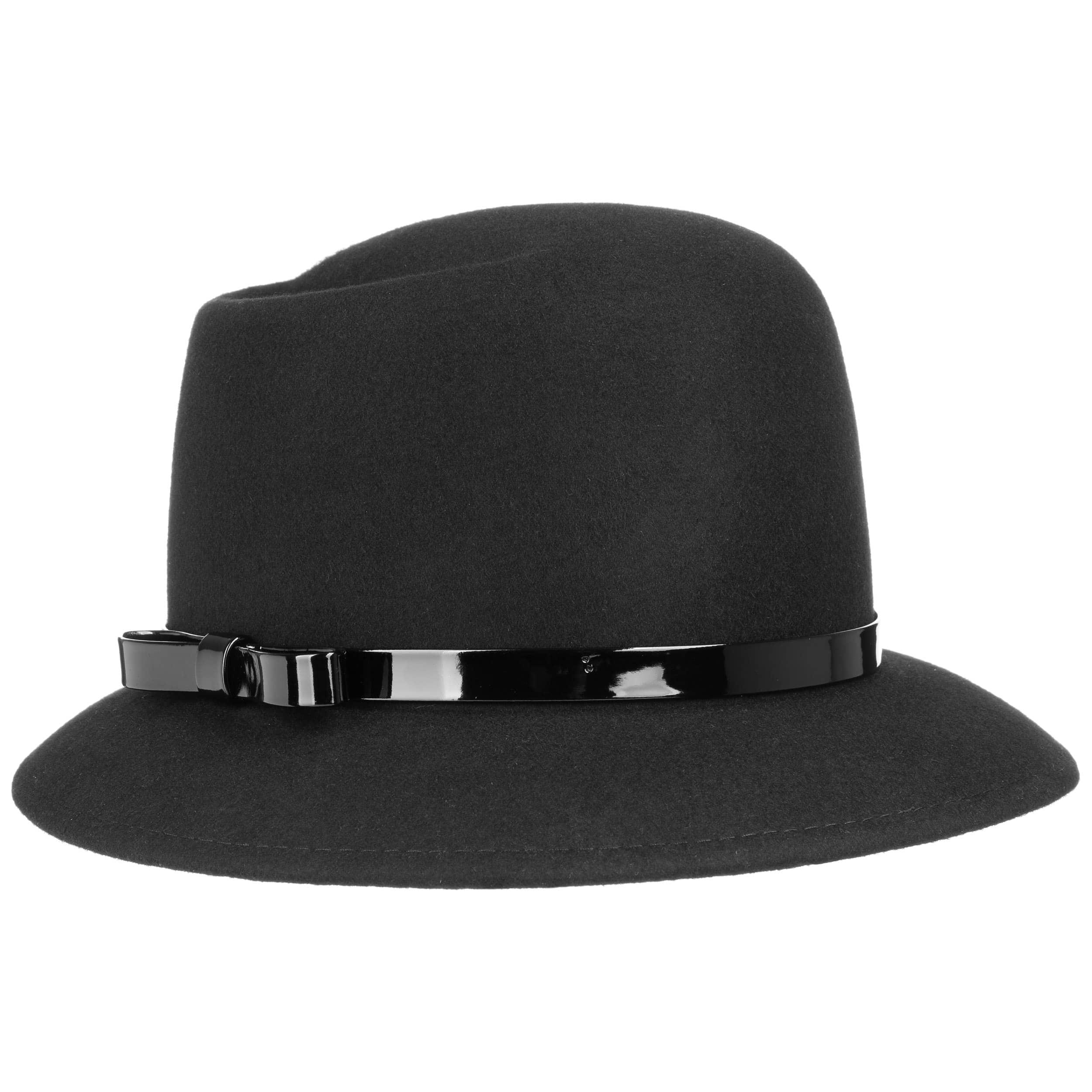 5e51e0920fdd8 Malita Wool Felt Cloche Hat by Lipodo