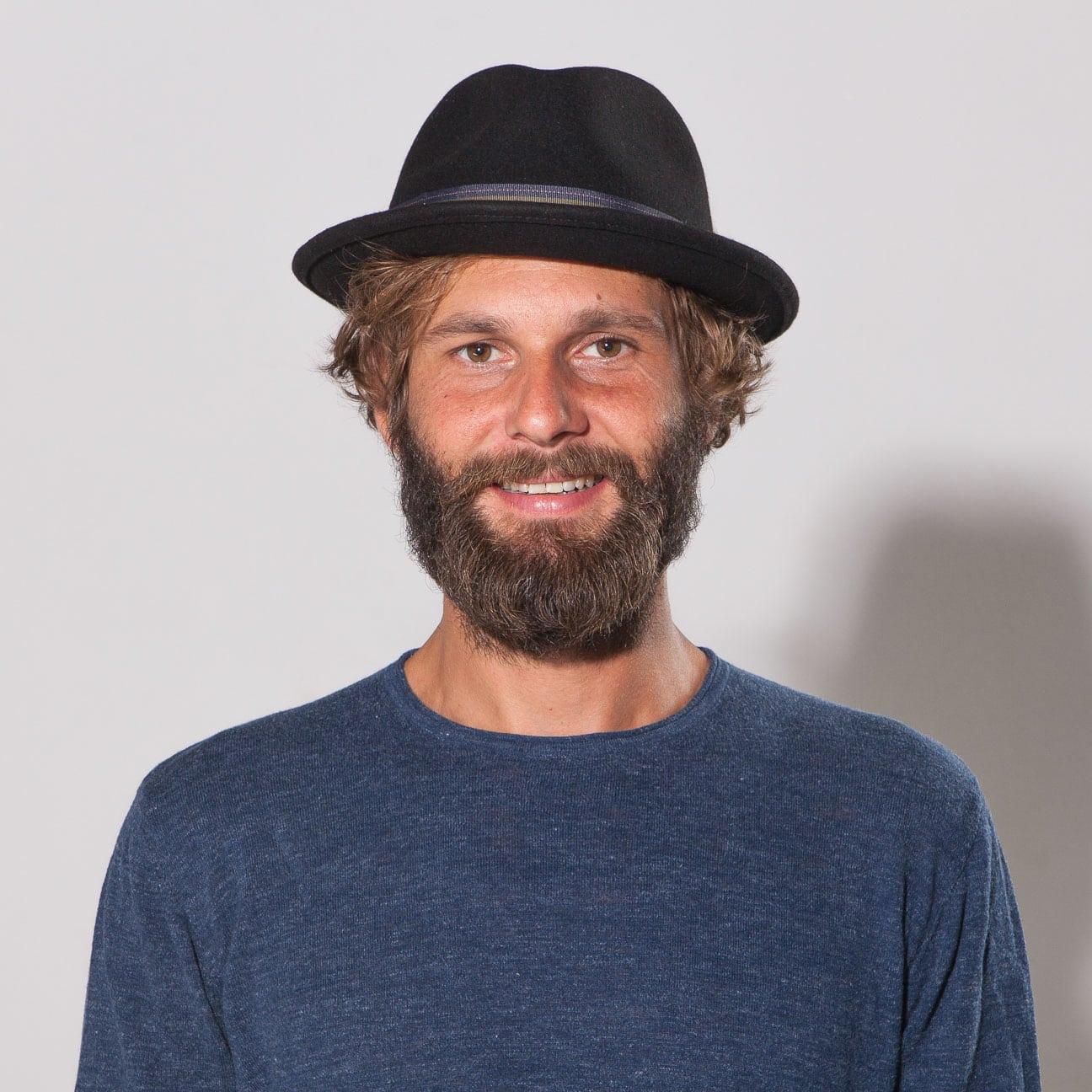 1b3e7fa85 Manhat Wool Felt Fedora Hat by Stetson