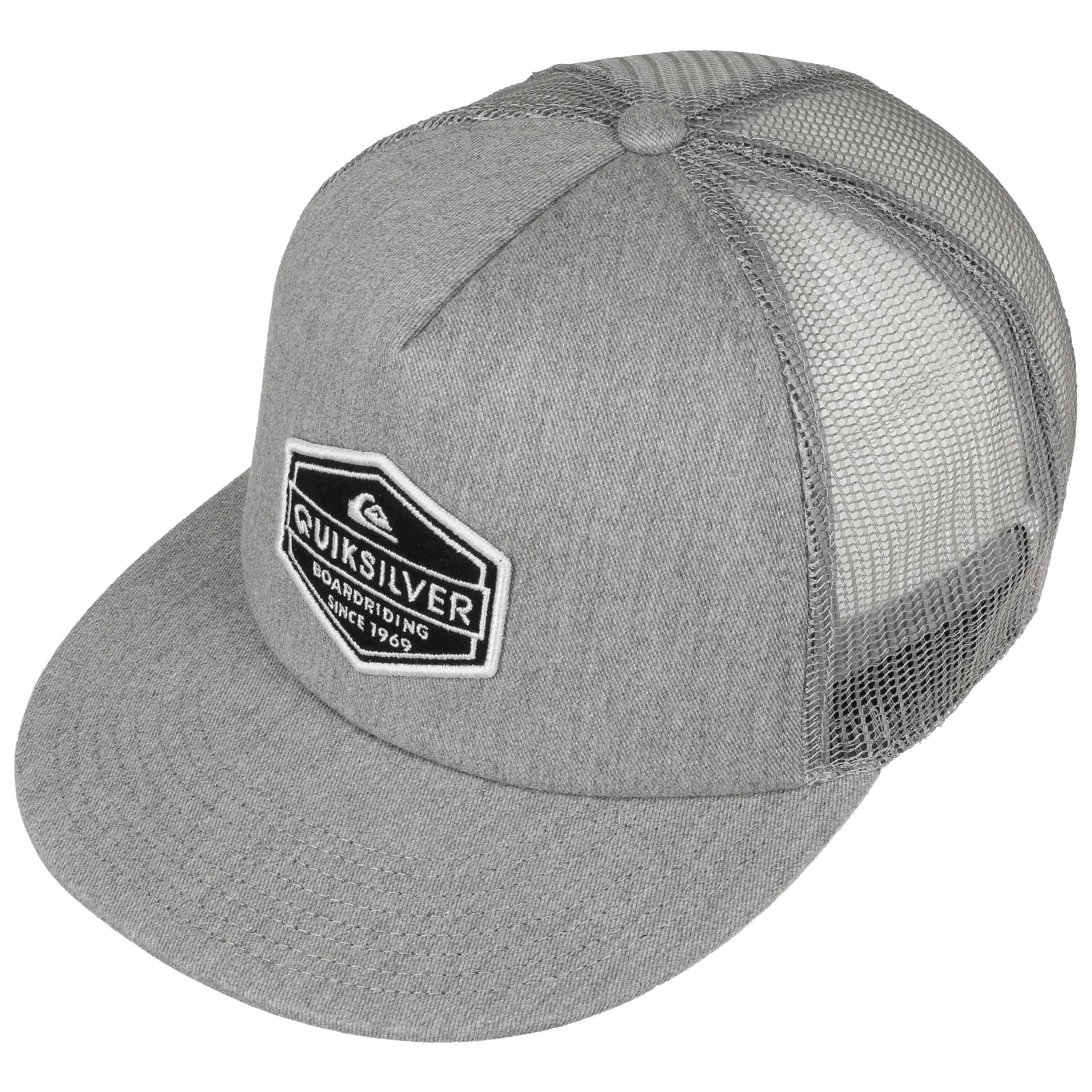 ... Marbleson Trucker Cap by Quiksilver - light grey 1 ... 45ac746c2a4