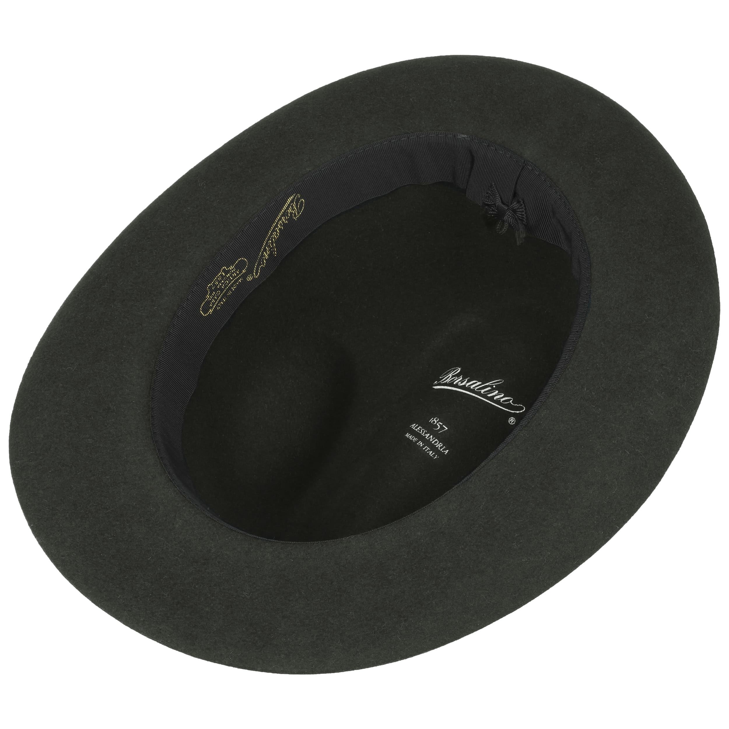 4a03154ec6376c ... Marengo Fur Felt Fedora Hat by Borsalino - anthracite 2 ...
