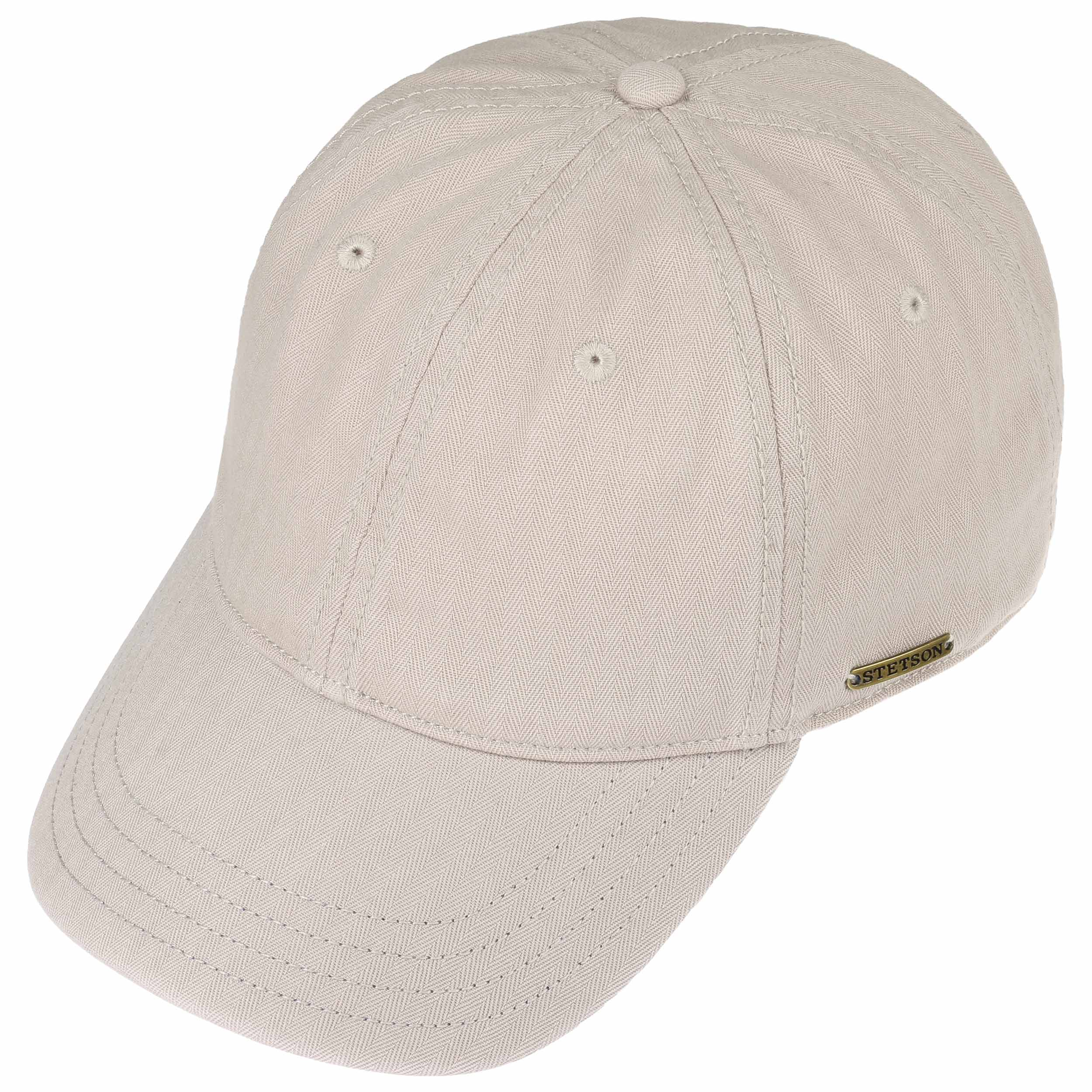 e01c5379d75 ... Marshal Cotton Baseball Cap by Stetson - beige-blue 1 ...