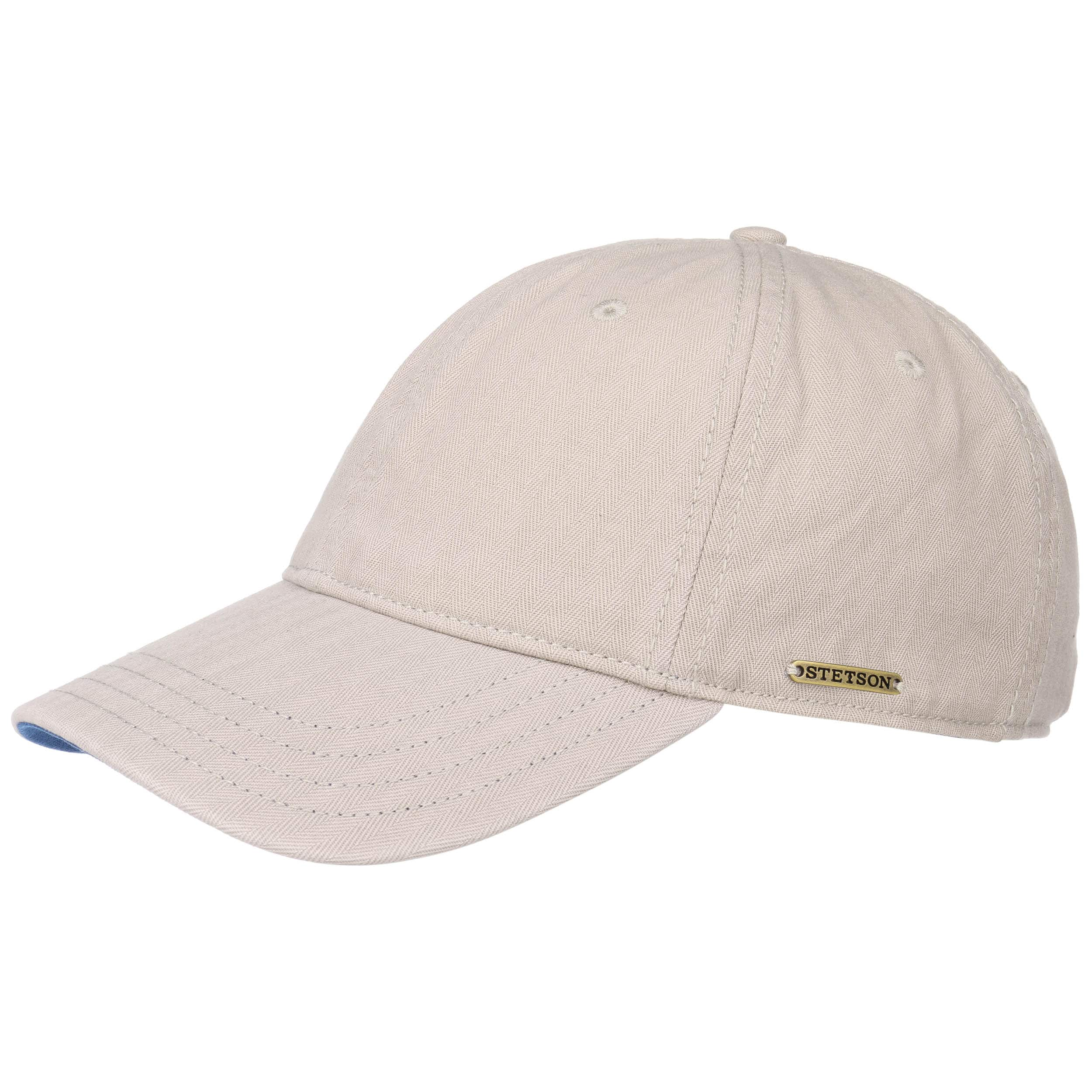 7f720a4199e ... Marshal Cotton Baseball Cap by Stetson - beige-blue 5 ...