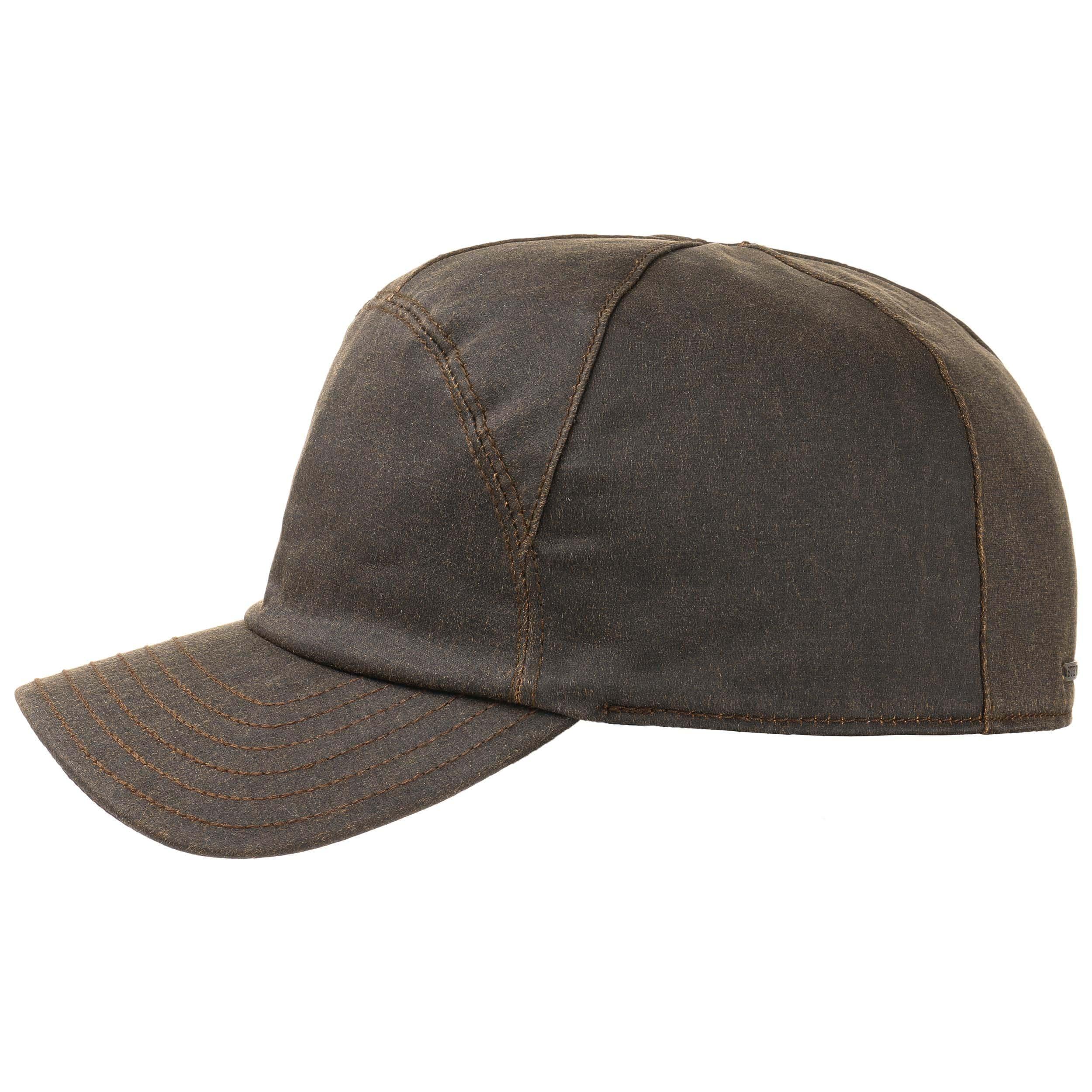 ... Maryman Earflaps Baseball Cap by Stetson - brown 5 ... bd6bca7868d