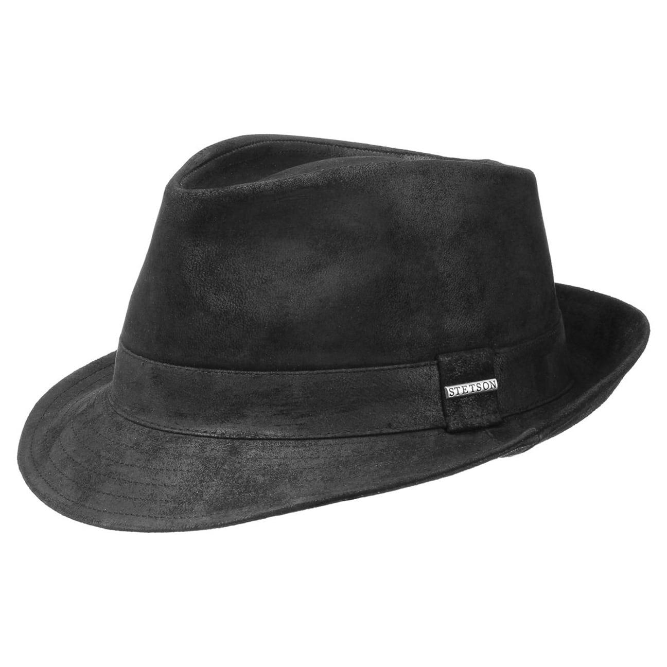 4c27b2887a2 ... Medula Pigskin Hat by Stetson - black 3
