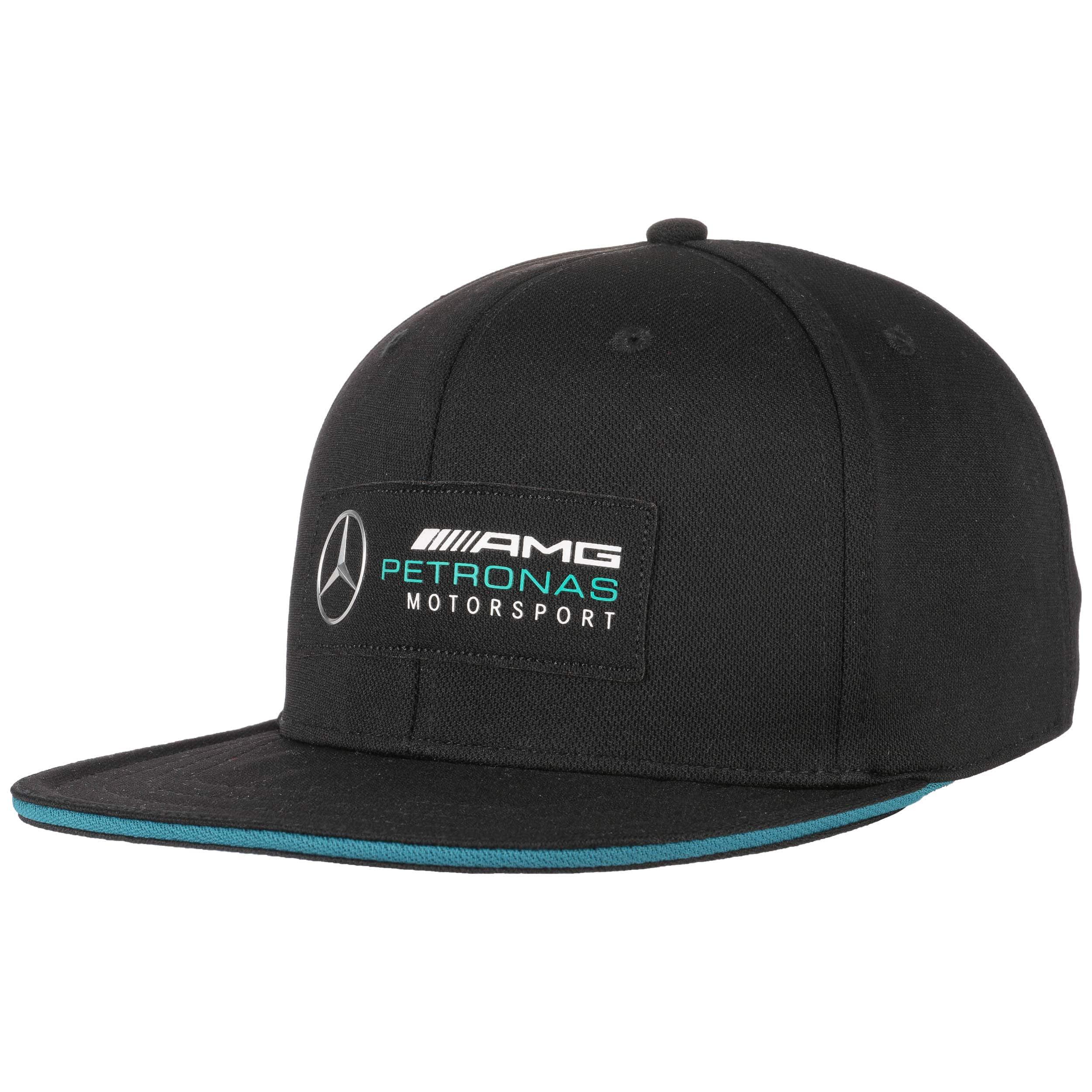 ... Mercedes AMG Petronas Flat Brim Cap by PUMA - black 5 bde773ab4727