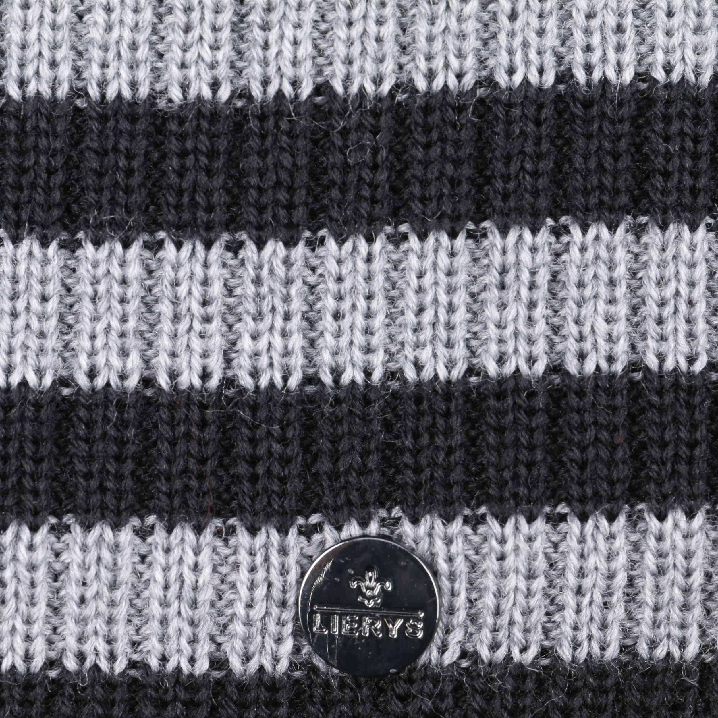 26a21d628f4144 ... 1 · Merino Stripes Beanie Knit Hat by Lierys - black 2 ...