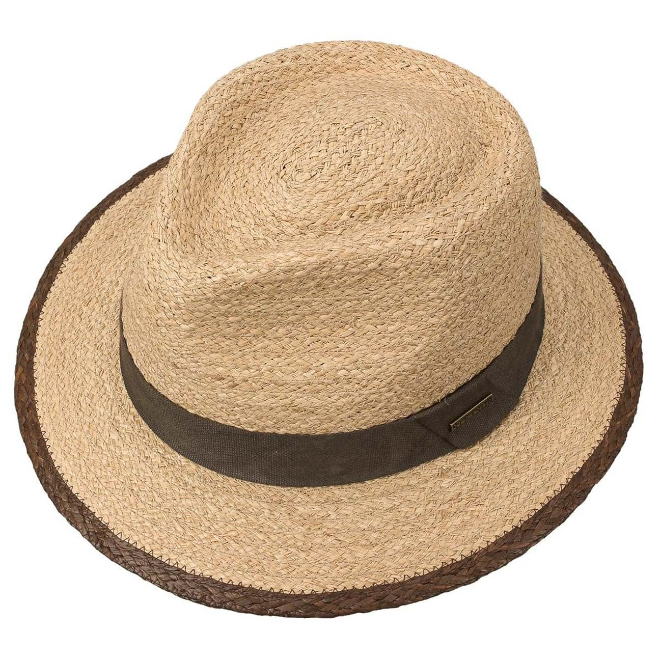 ee08c721c7138 Merriam Raffia Traveller Hat by Stetson - nature 2 ...
