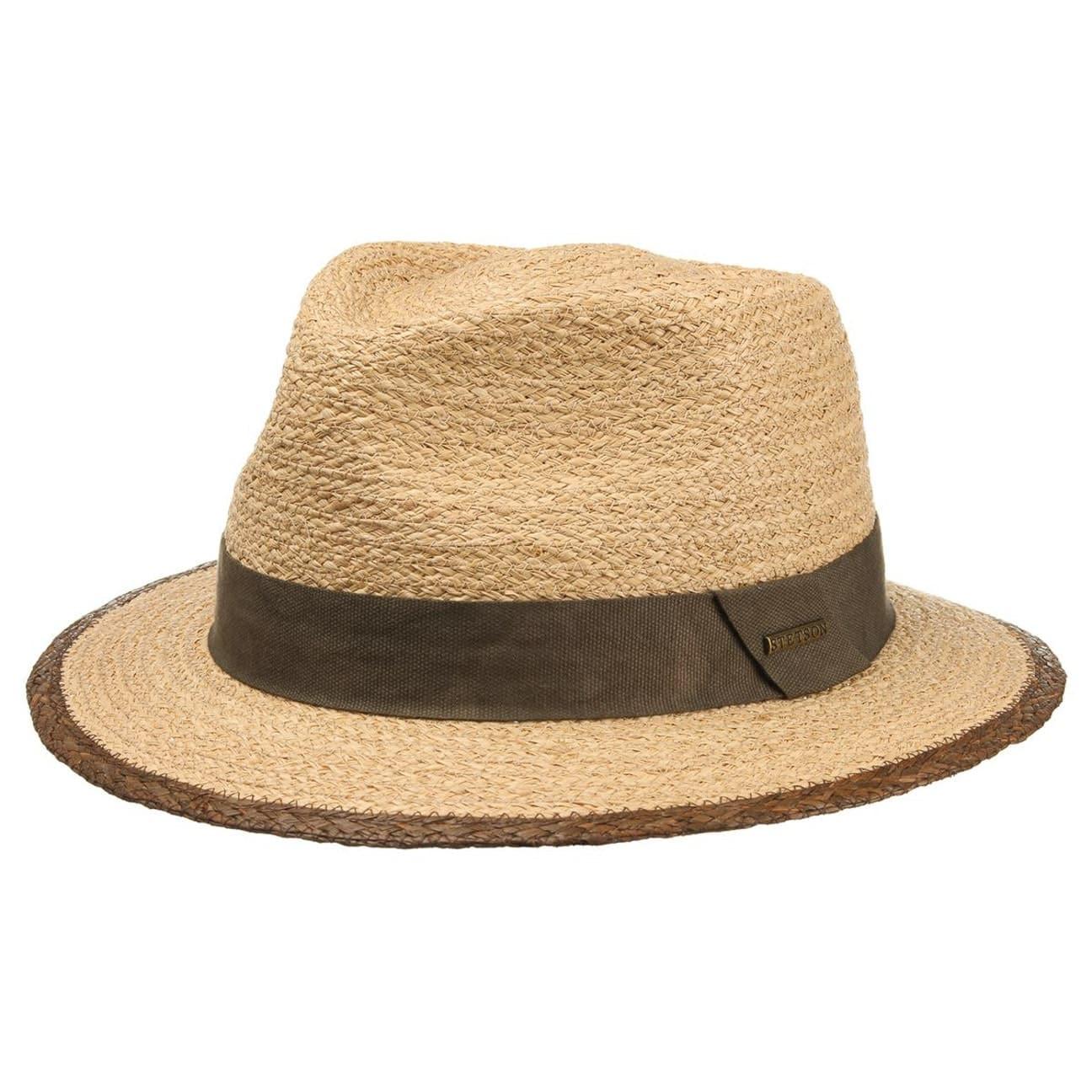 Merriam Raffia Traveller Hat. by Stetson 59330757ec3