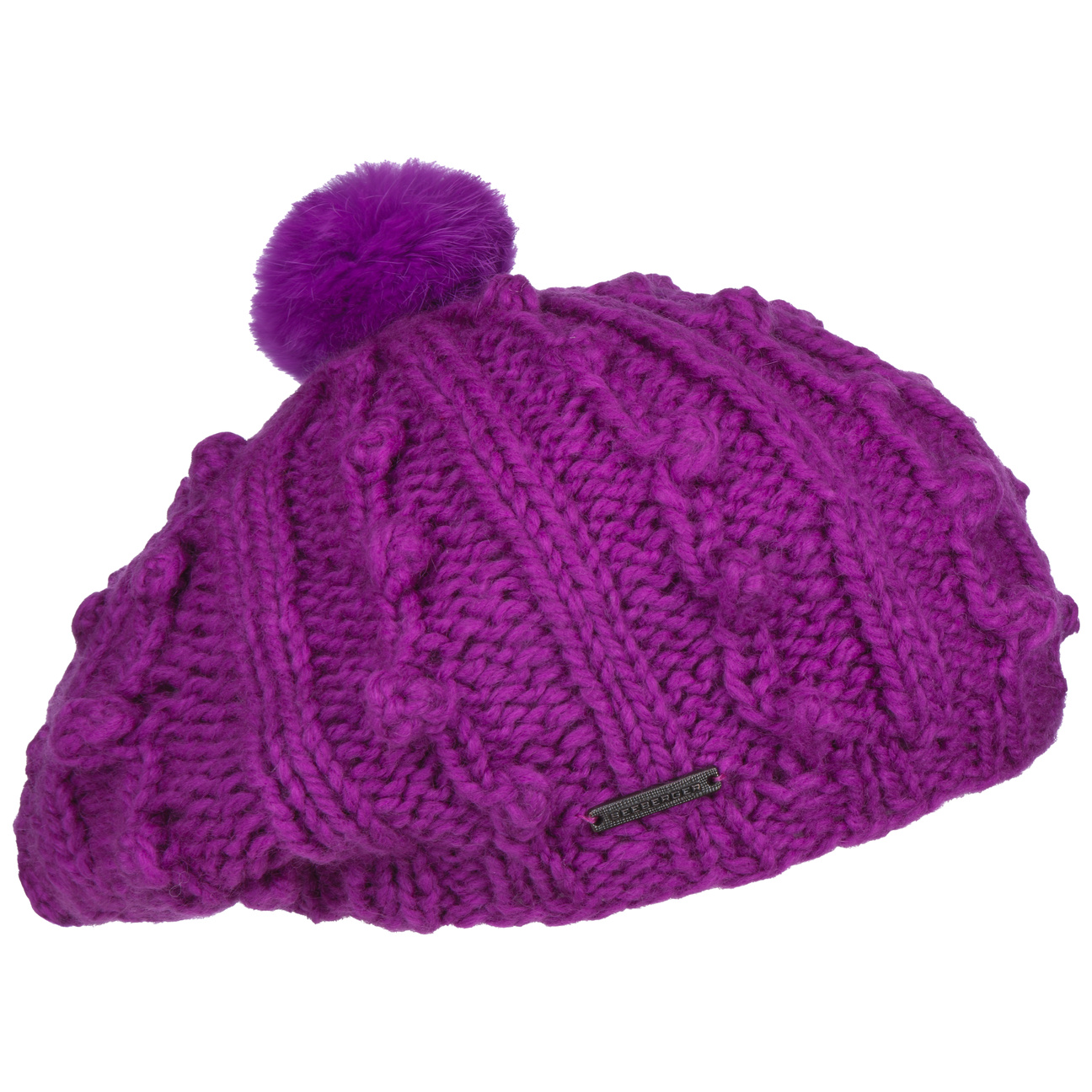985f225ba9aacb Mia Knit Beret by Seeberger, EUR 29,95 --> Hats, caps & beanies shop ...