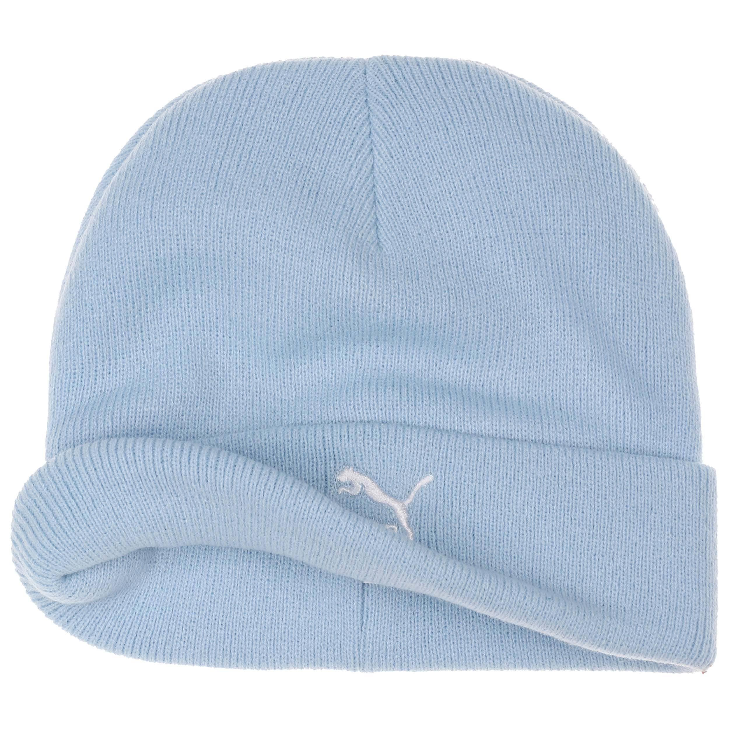 7026401ba57 ... Mid Fit Beanie Hat by PUMA - light blue 1 ...