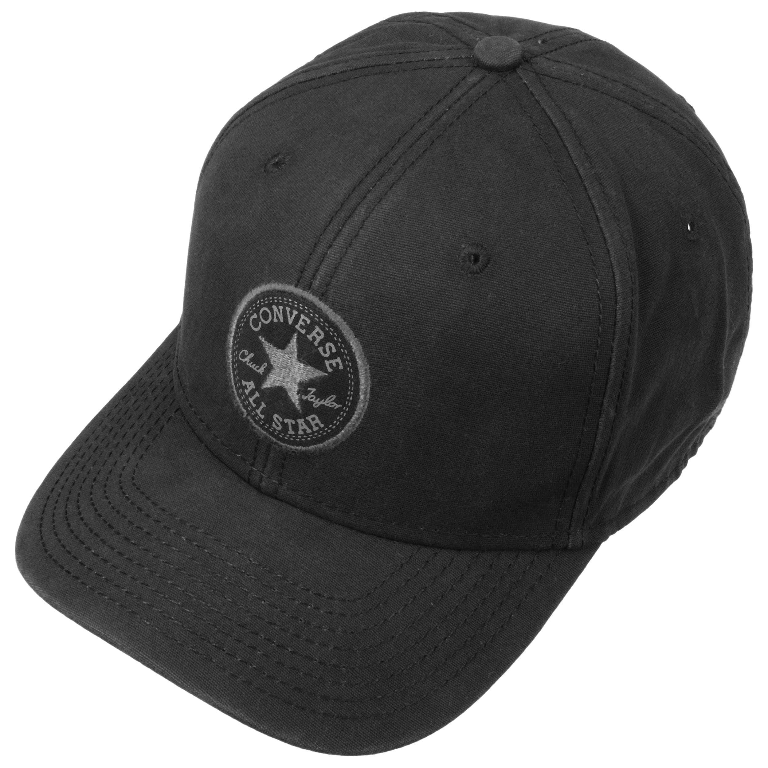 396901edf5bb4 ... Mild Curve Snapback Cap by Converse - black 1 ...