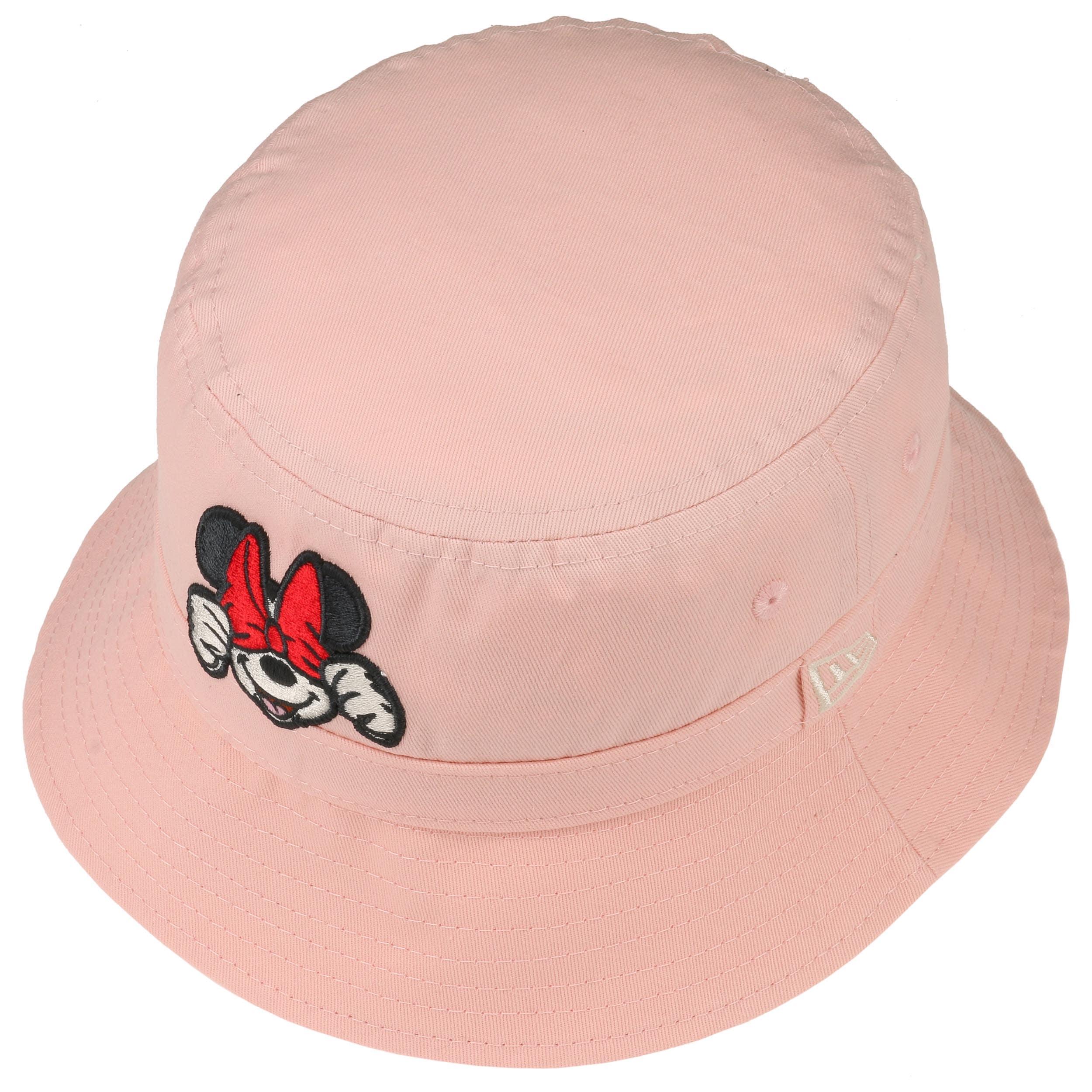 abdf069c0f1 Minnie Mouse Kids Bucket Hat by New Era - pink 1 ...