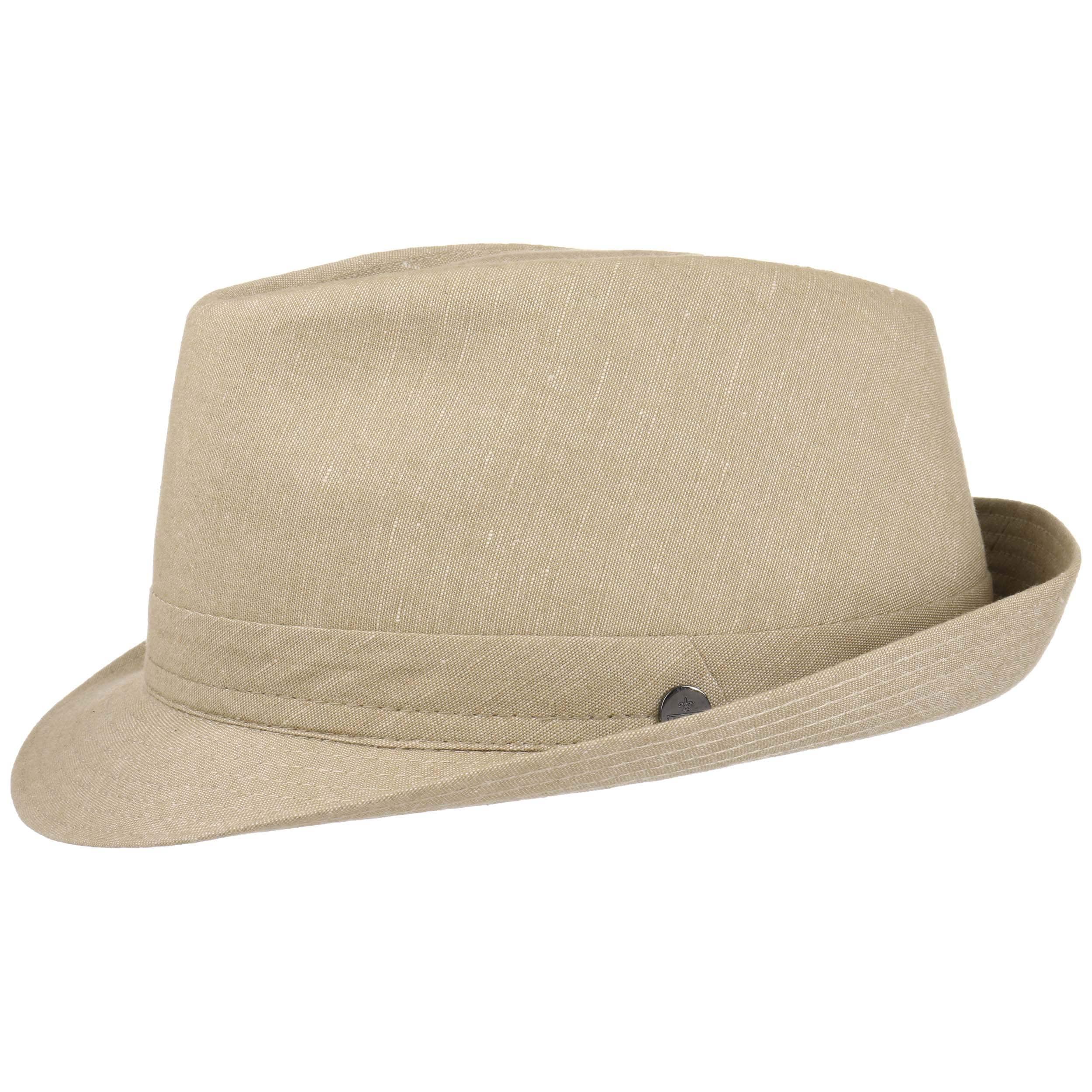 ... Misto Lino Linen Trilby Hat by Lierys - beige 4 ... 38c97d909174