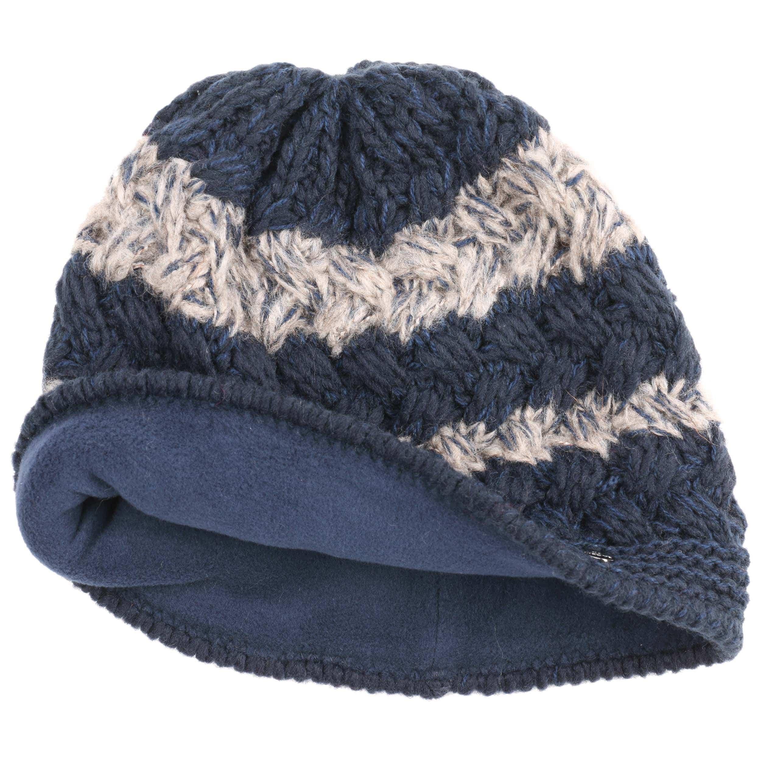 Multicolour Knit Hat with Flower by Lierys Cloth hats Lierys ysr7bRHw