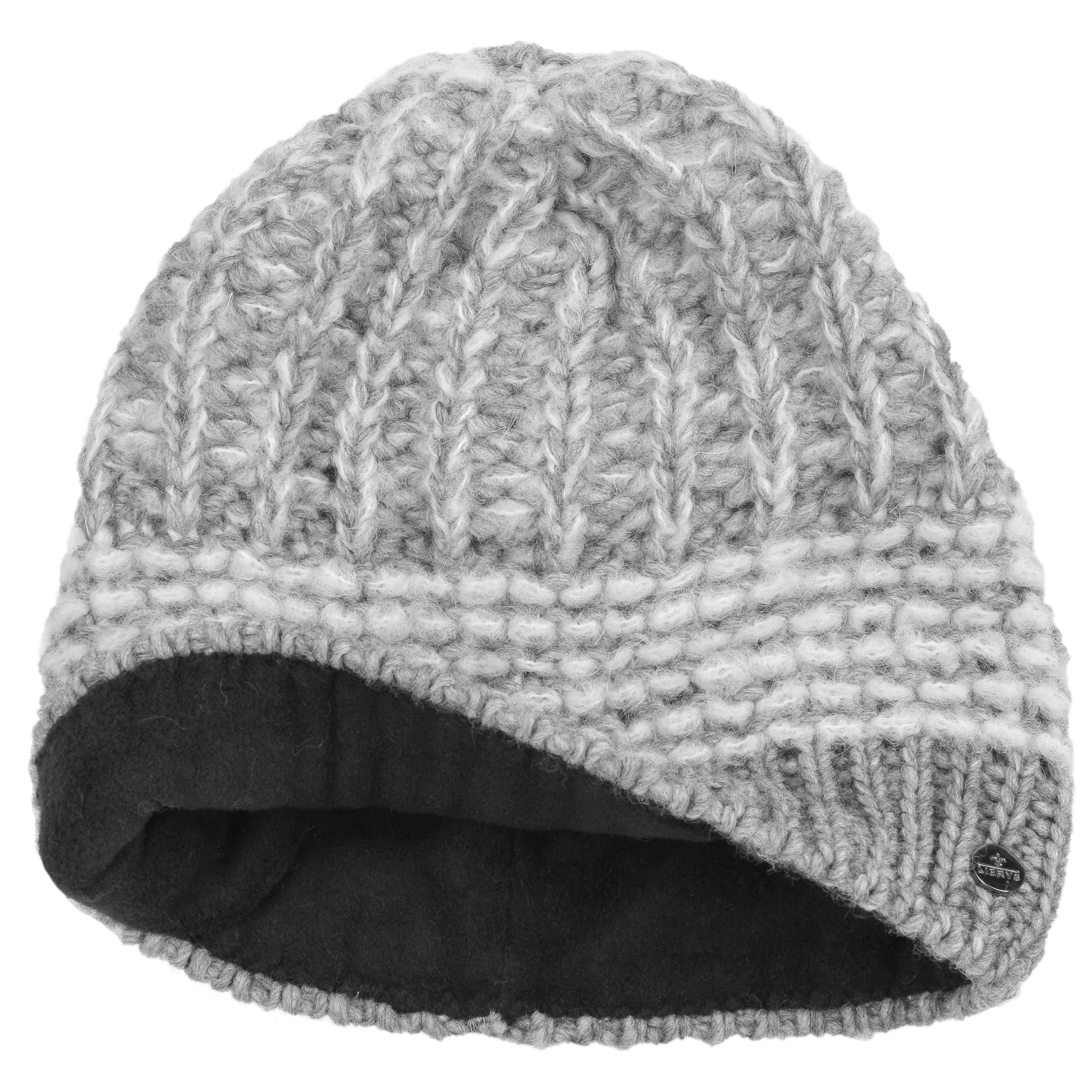 Knitting Pattern For Mohair Hat : Mohair Twotone Knit Hat by Lierys, EUR 34,95 --> Hats, caps & beanies ...
