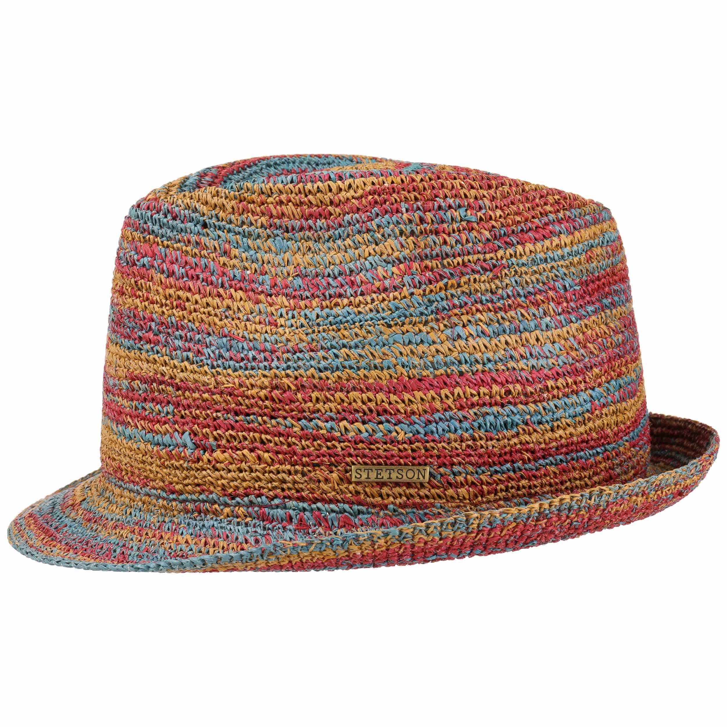 Monett Crochet Trilby Straw Hat by Stetson, EUR 109,00 --> Hats ...
