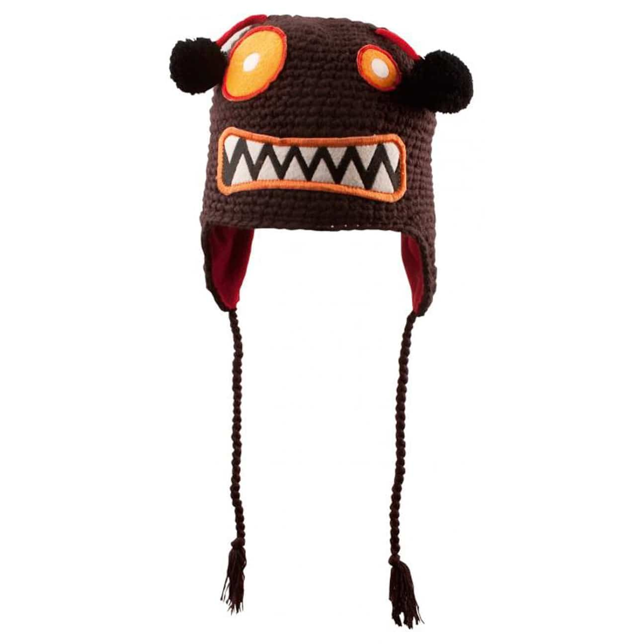 9a012f30f17 Monster Fun Kids Hat by Chillouts - brown 1