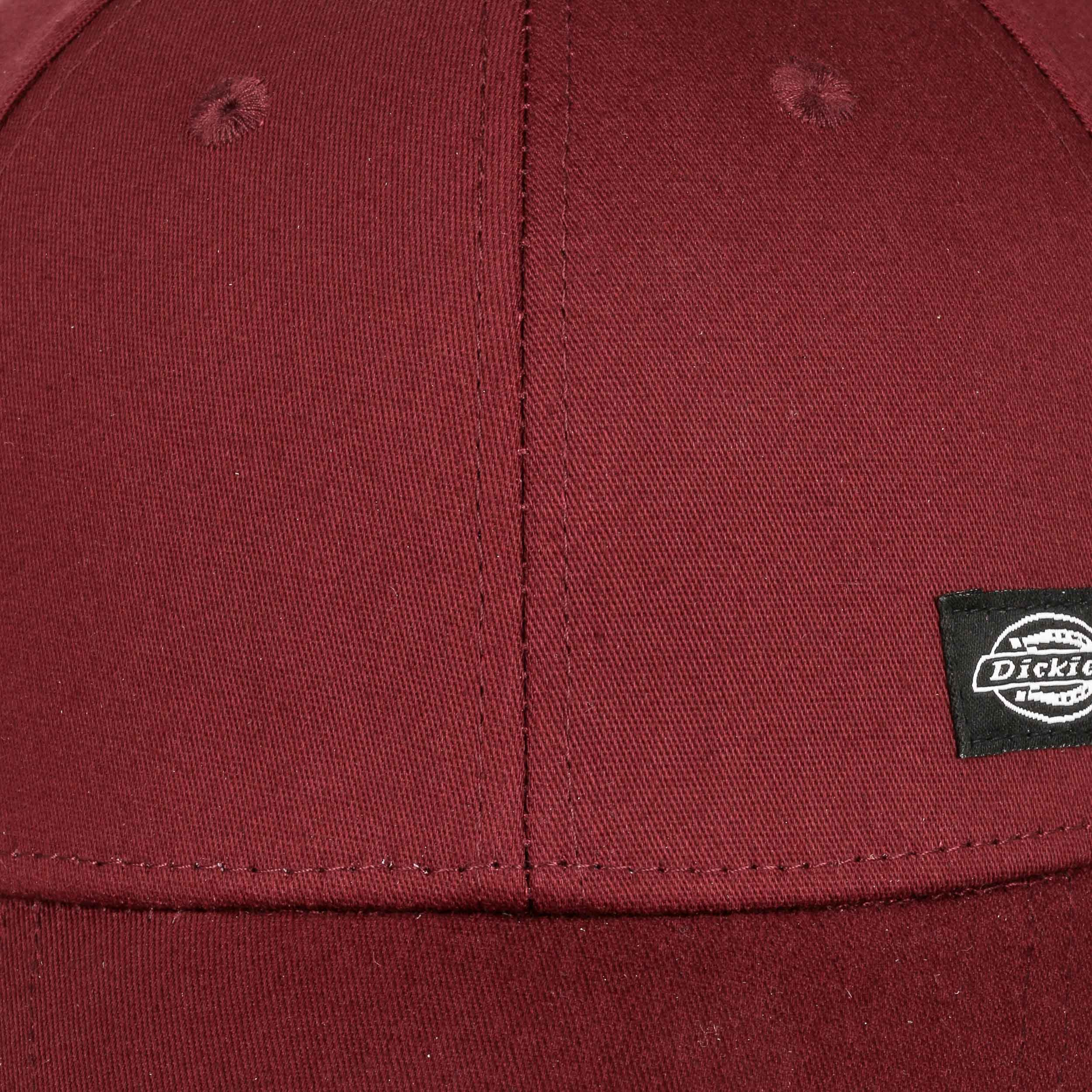 6316b9be737 ... Morrilton Fitted Cap by Dickies - bordeaux 4 ...