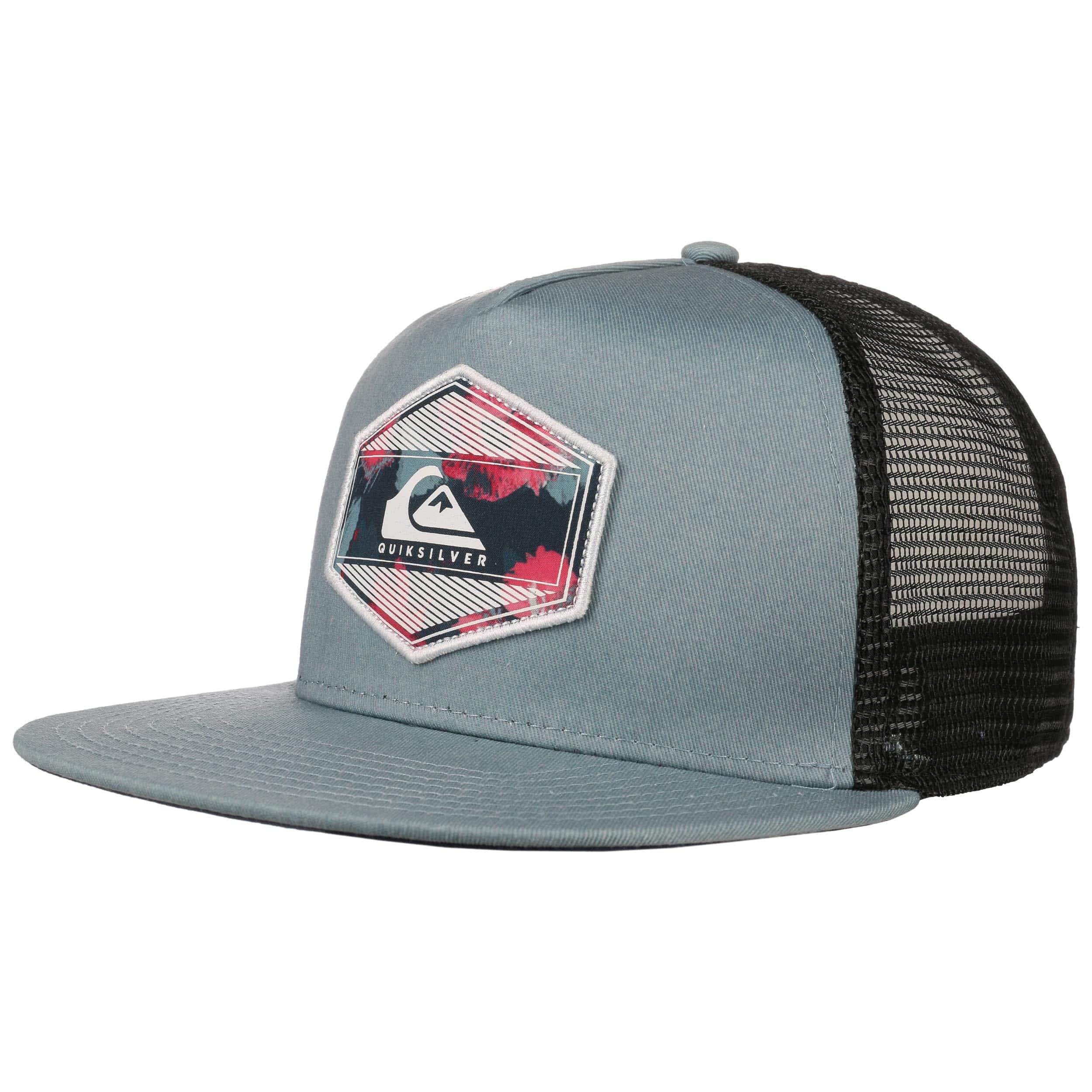 ... low price morsen trucker cap by quiksilver light blue 5 85ead 95501 ab688e2265c