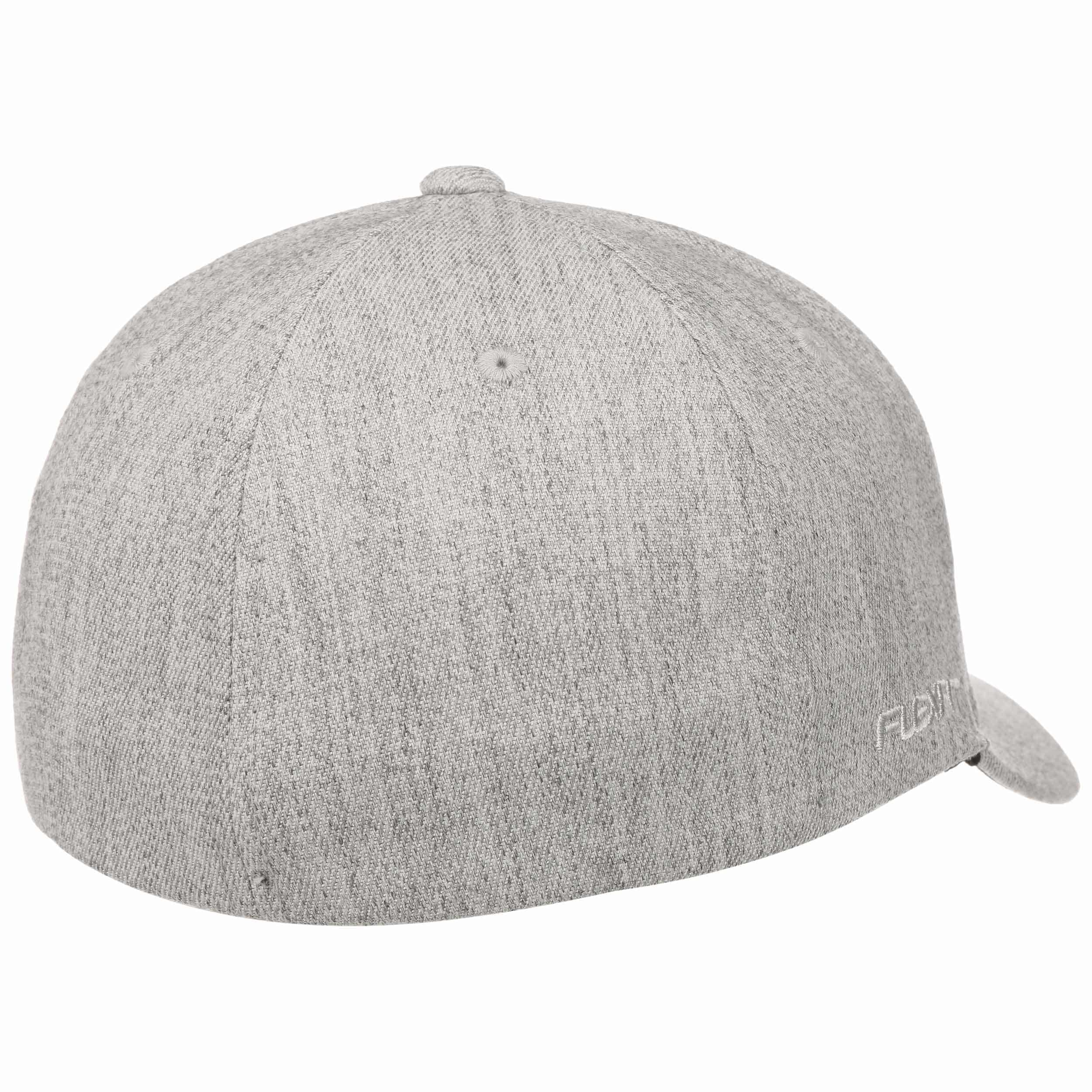 sports shoes 20234 3858e ... Mountain   Wave Fitted Cap by Quiksilver - grey-mottled 2 ...