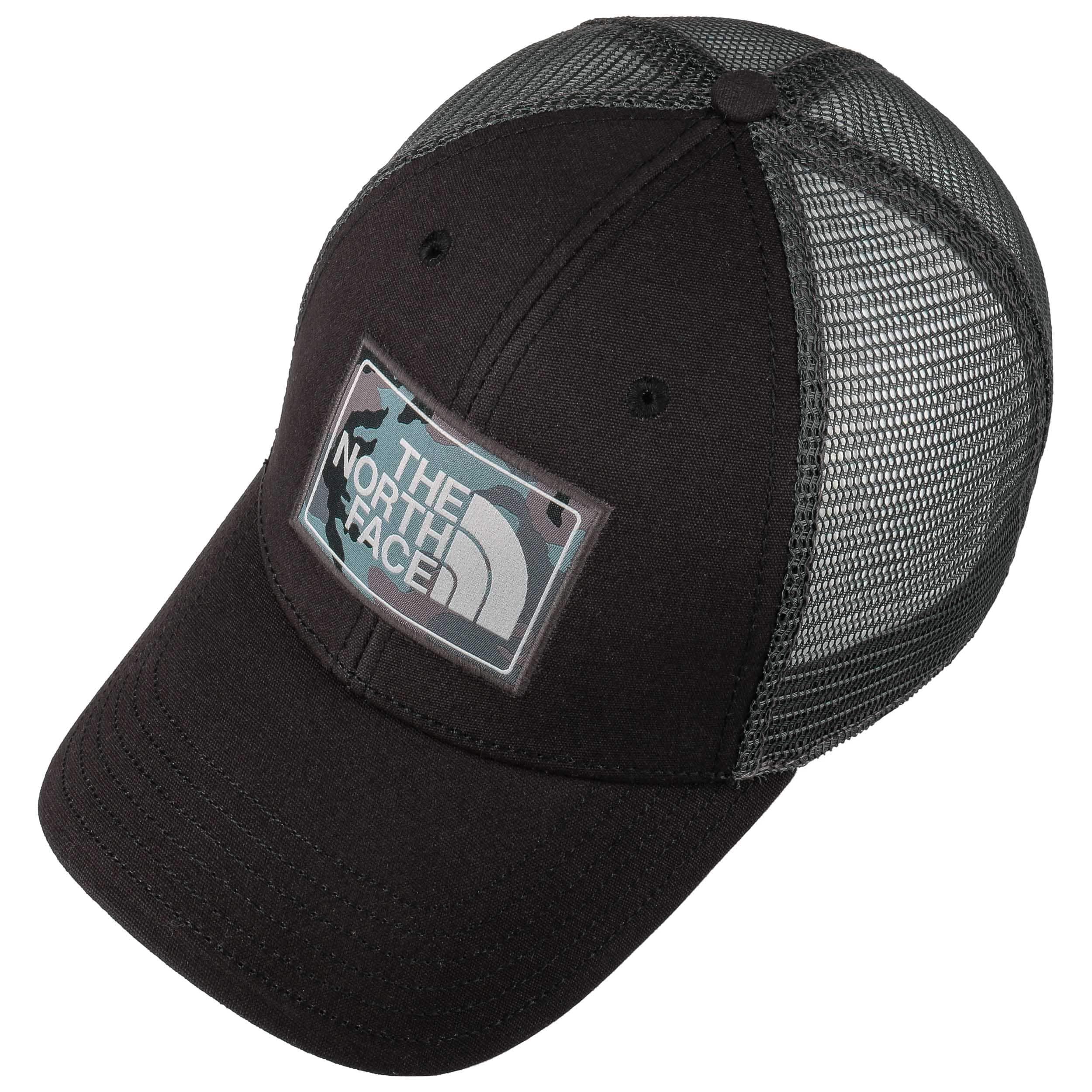 a5975ea751b74 ... Mudder Trucker Cap by The North Face - black-grey 1 ...