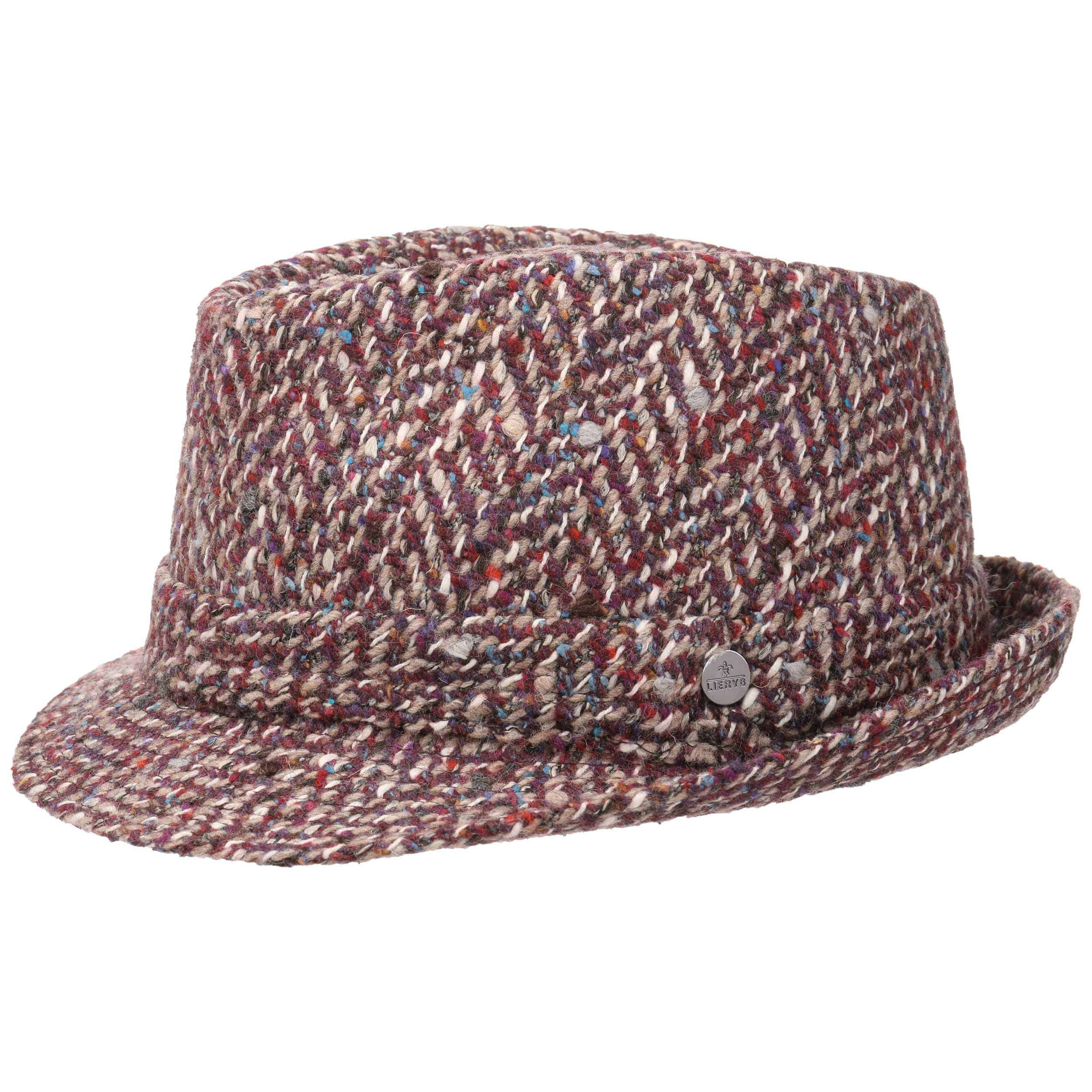 Superlight Crushable Trilby Hat by Lierys Trilby hats Lierys
