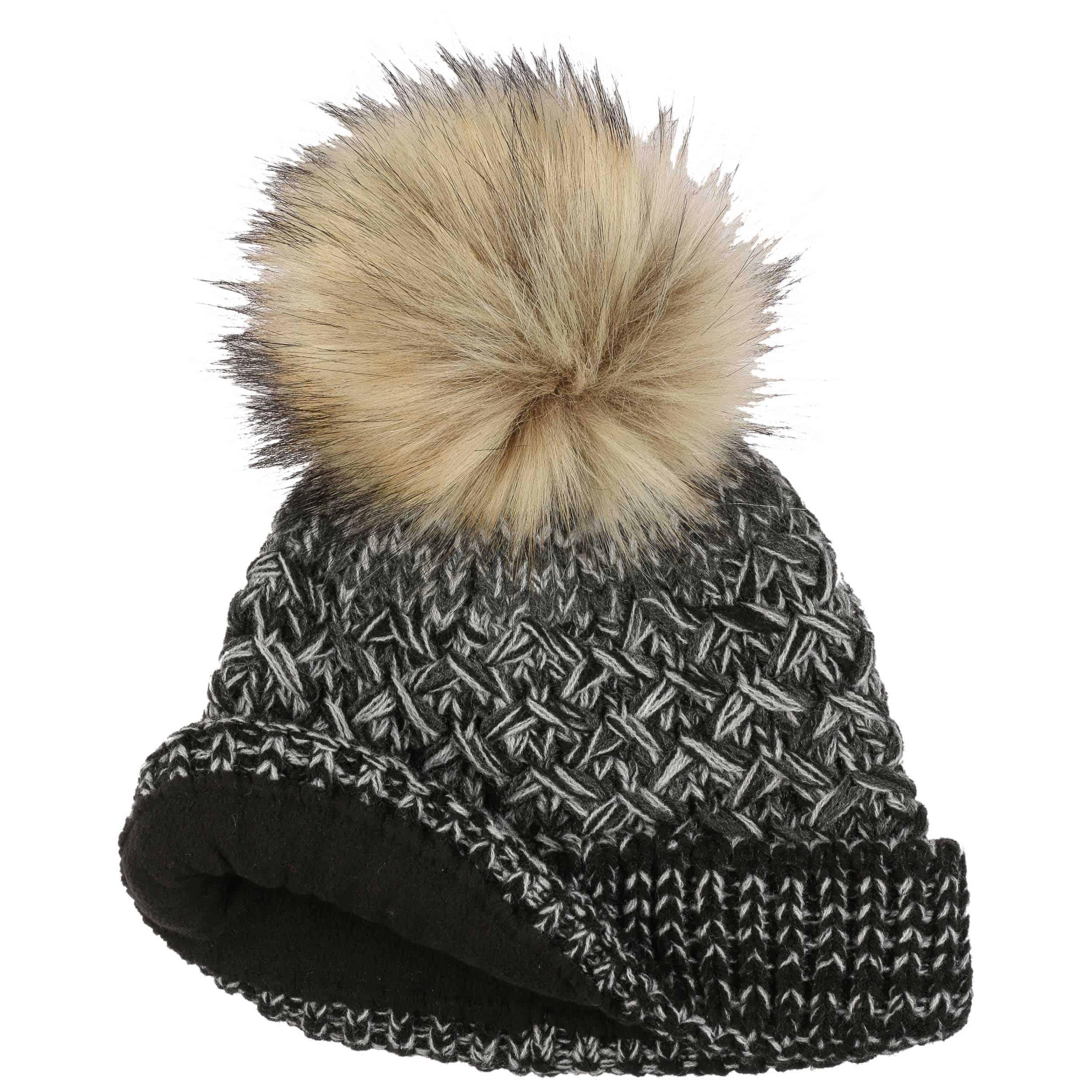 17c4b8356c8a9 Multimélange Wool Pompom Hat by Seeberger