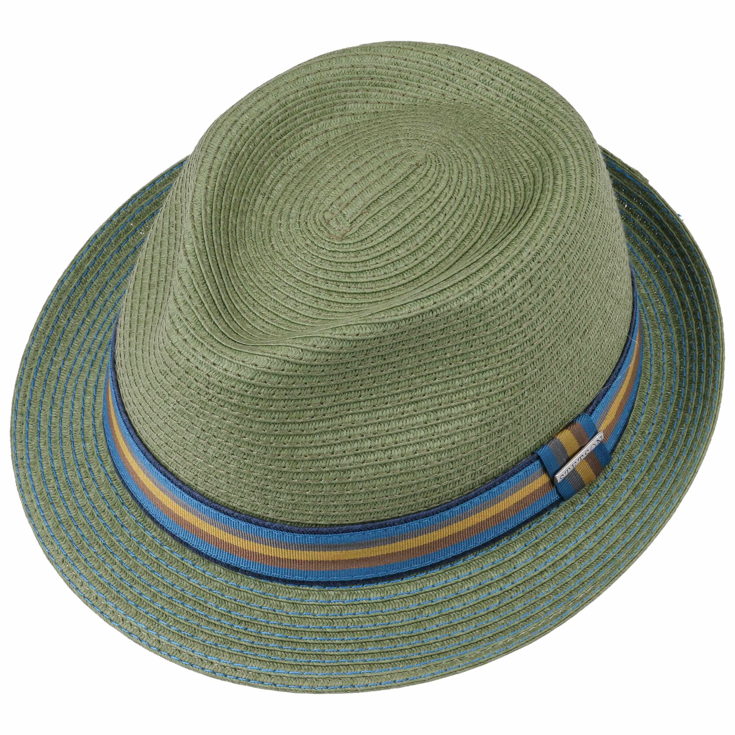 253a4bcd ... Munster Toyo Trilby Hat by Stetson - green 1 ...