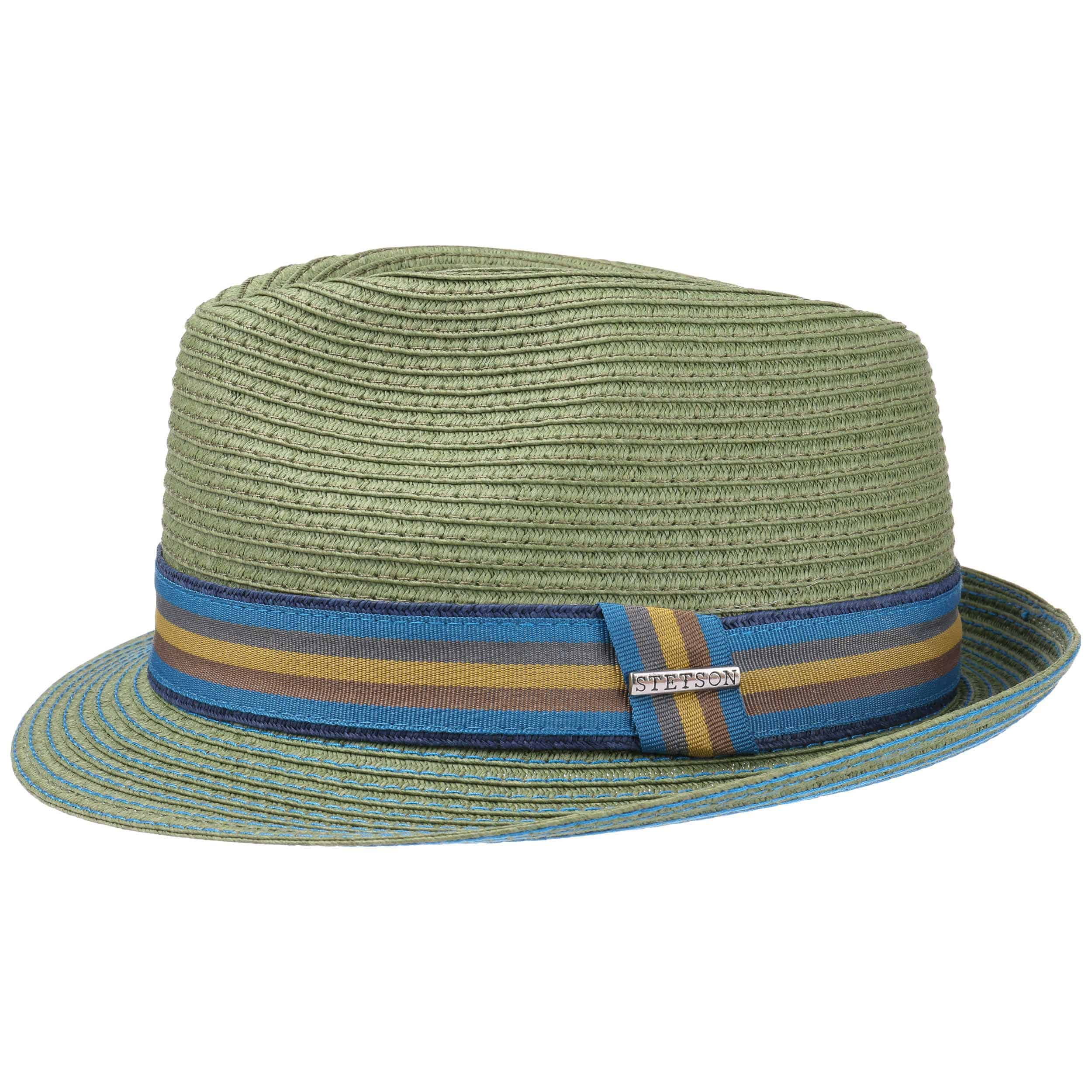 ... Munster Toyo Trilby Hat by Stetson - green 4 ... ca2e8b3d97d