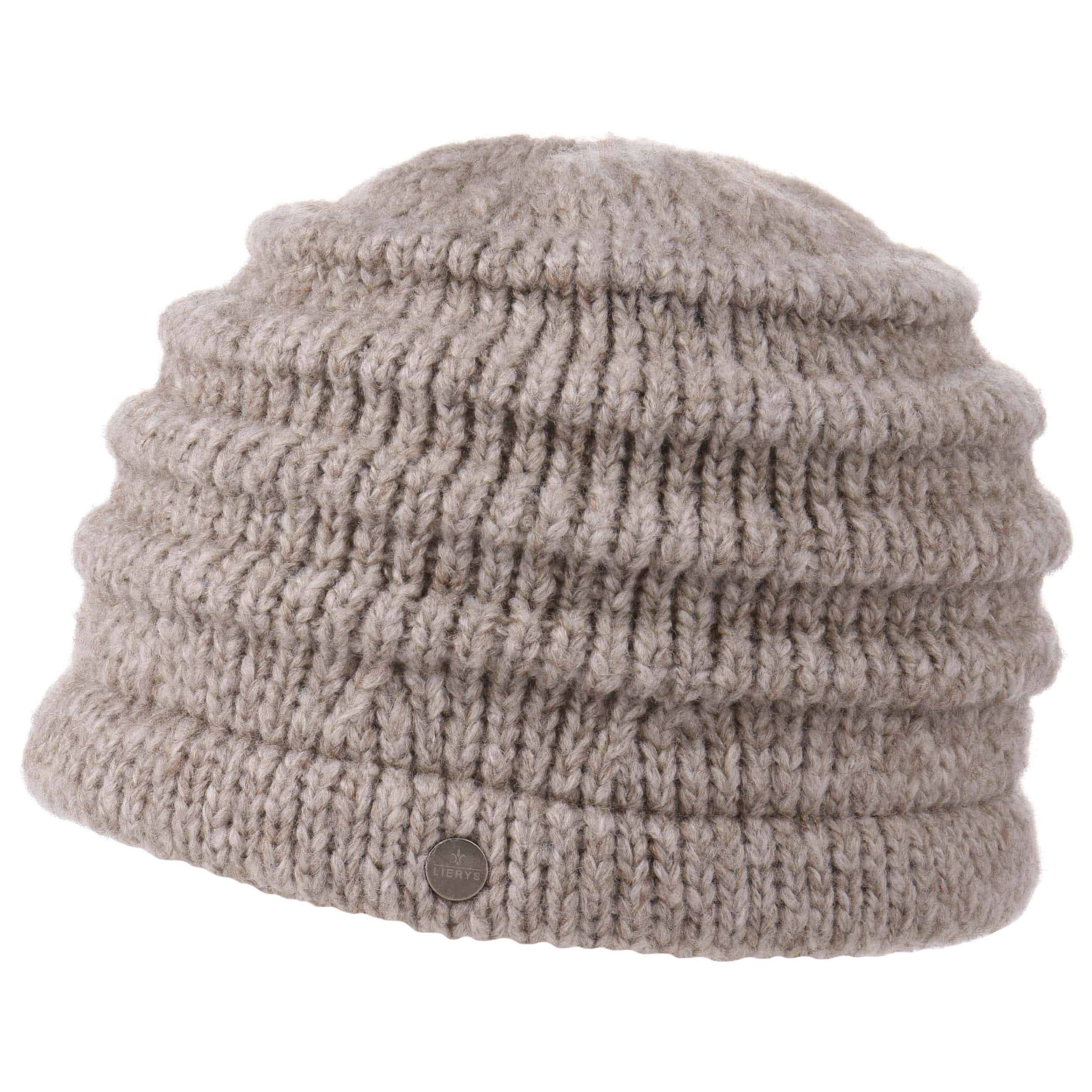Knitting Pattern For Mohair Hat : My-Mohair Knit Hat by Lierys, EUR 39,95 --> Hats, caps & beanies shop ...