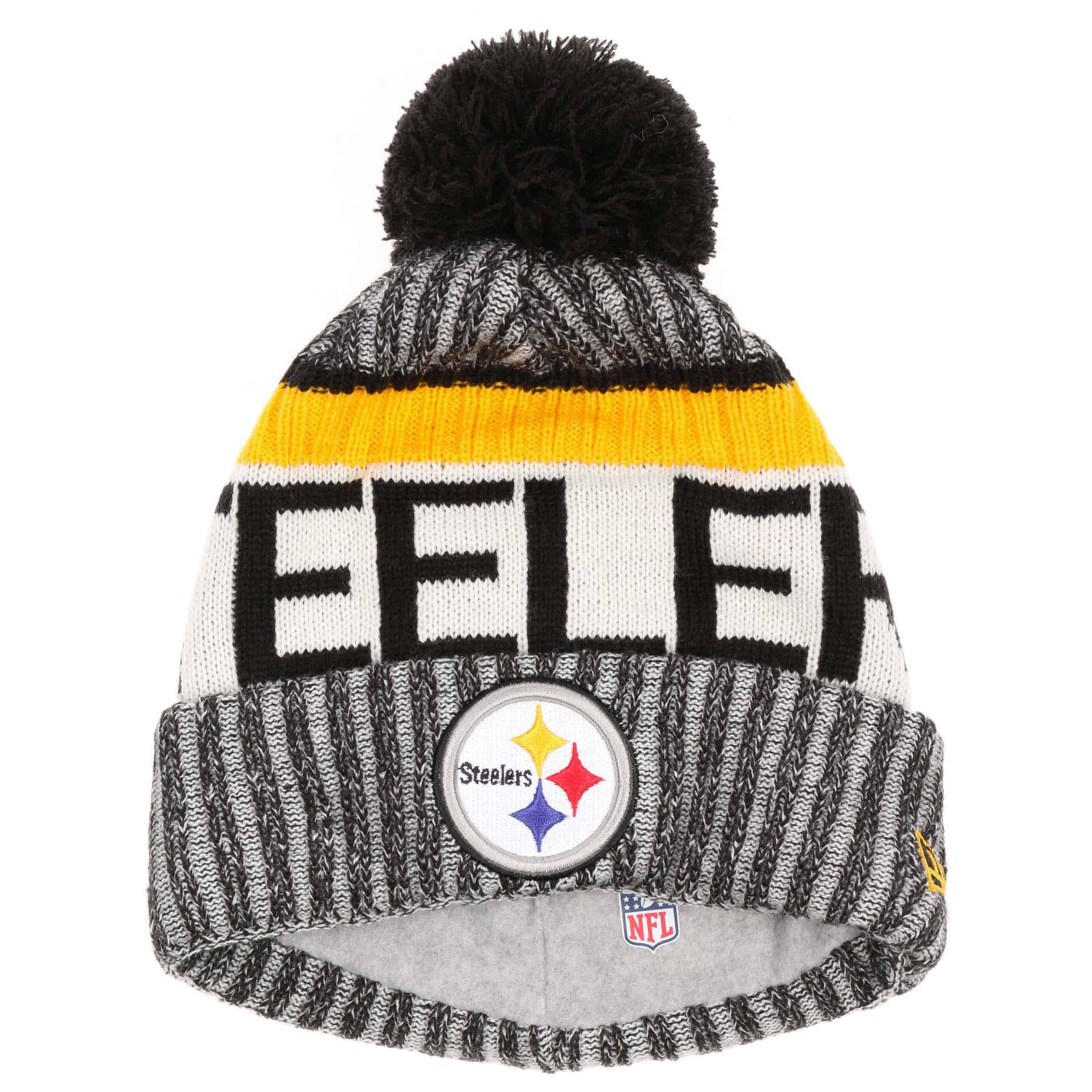 NFL Steelers Beanie by New Era - black 1 ... 4422397aa83