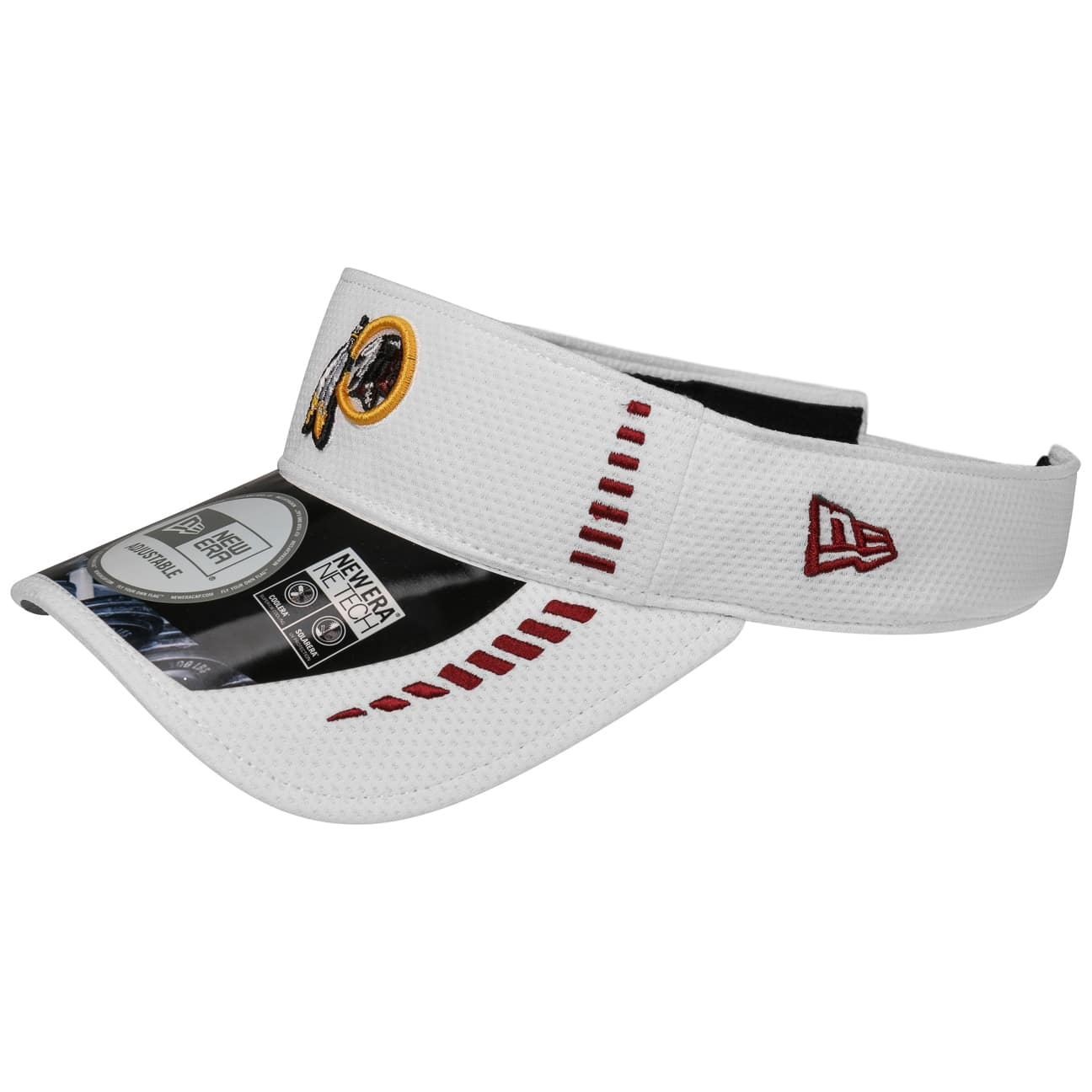 ... NFL Washington Redskins Visor by New Era - white 5 ... 2b018a0a83d