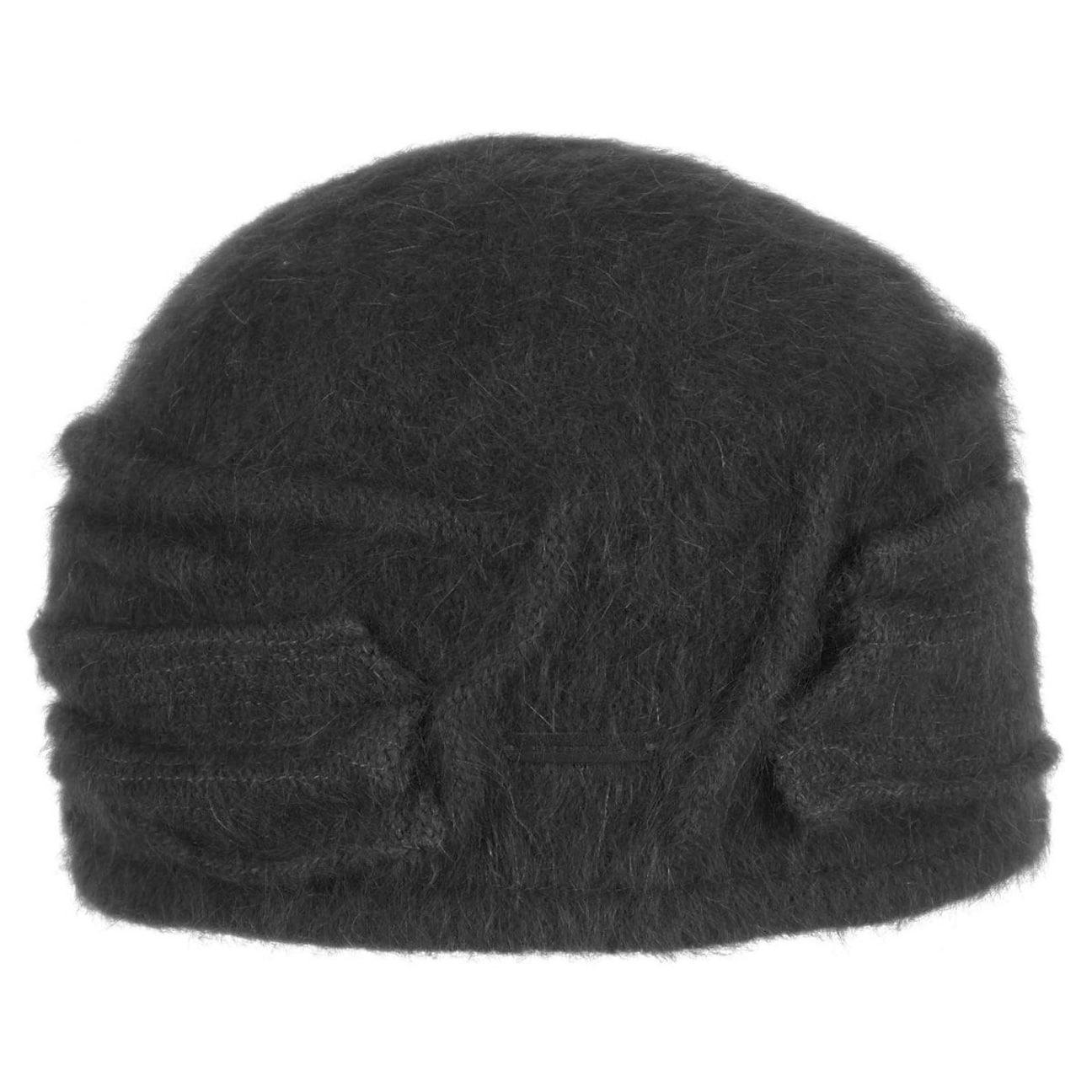 79529e46e02 ... Nakiska Angora Toque Hat by Seeberger - black 1