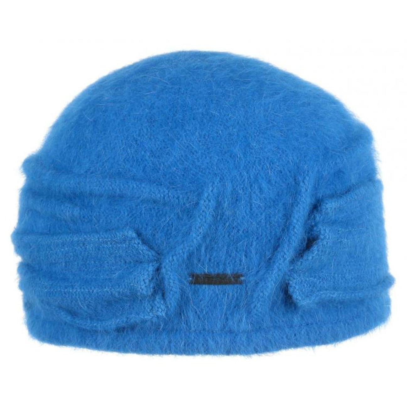 0b4a24f9e4e Nakiska Angora Toque Hat by Seeberger - blue 1 ...