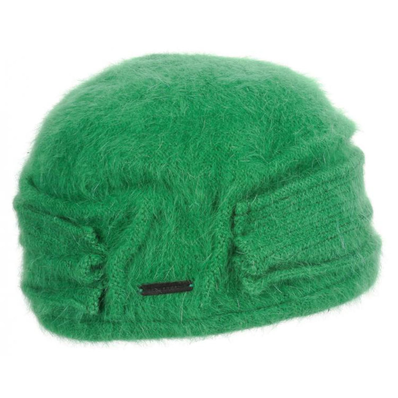 e90744846db ... Nakiska Angora Toque Hat by Seeberger - green 1 ...