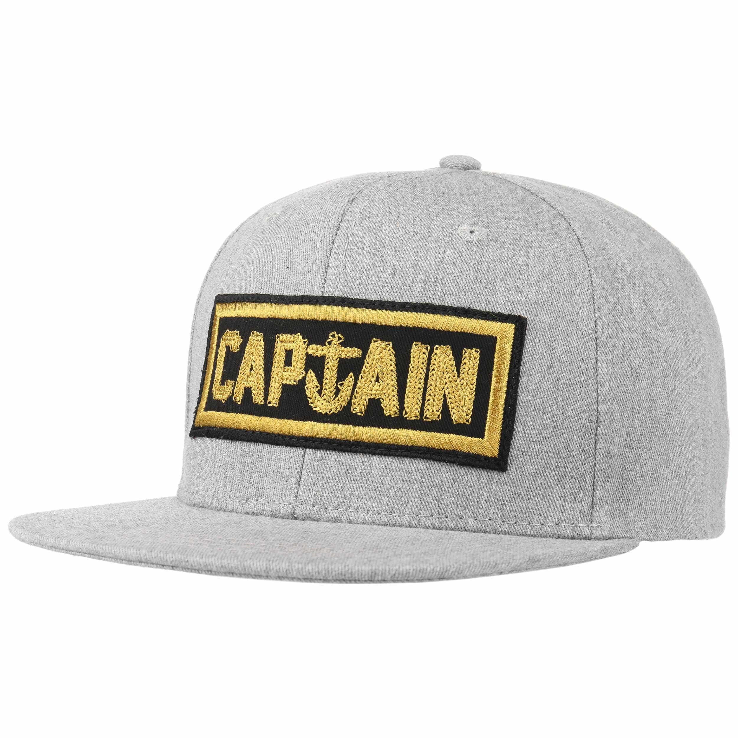 47aa609ca Naval Captain Snapback Cap by Captain Fin