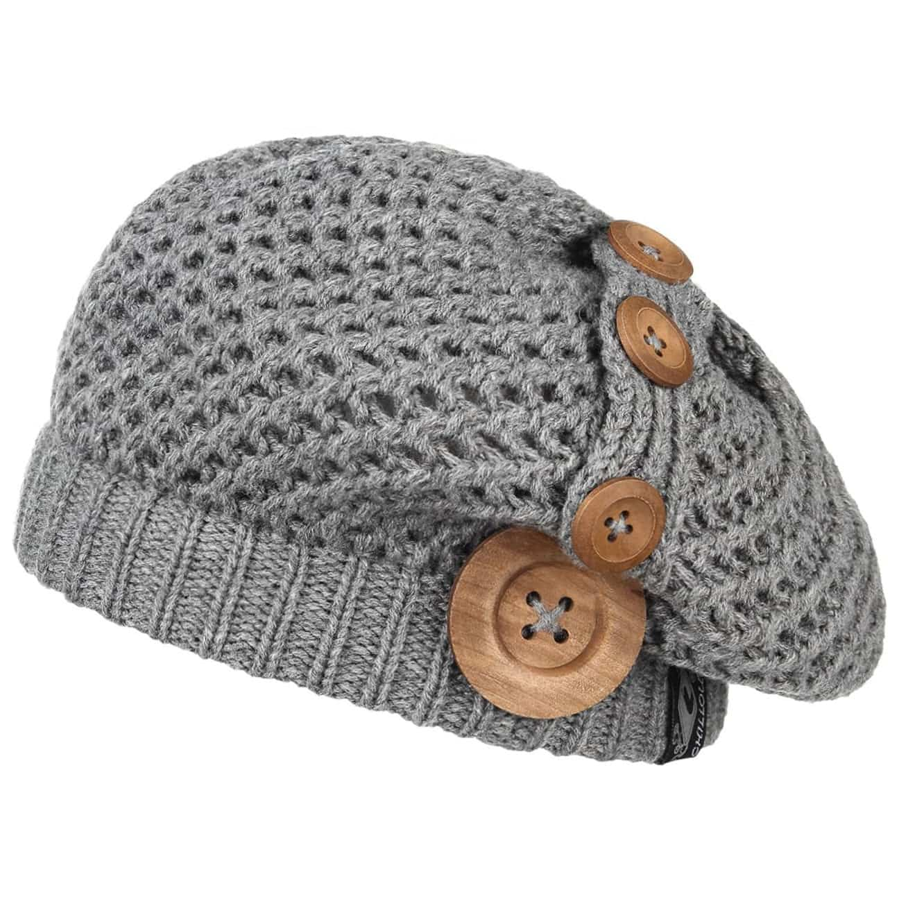 ... Nelly Knit Beret by Chillouts - grey 1 ... 38c440f9658