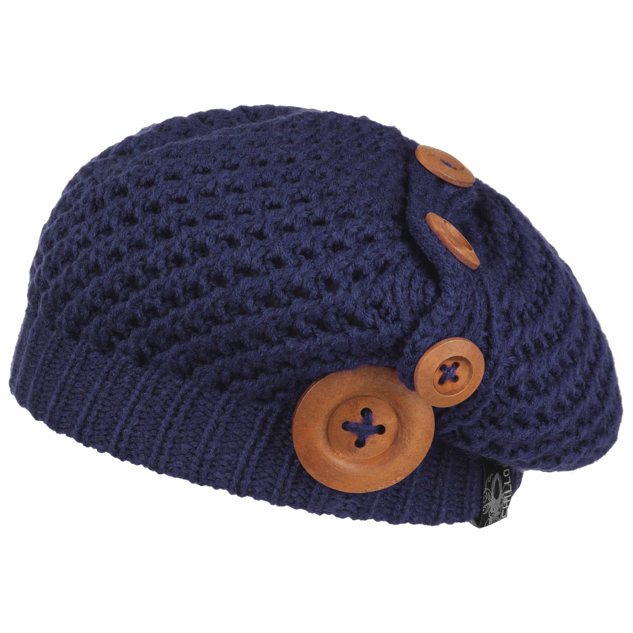 ... Nelly Knit Beret by Chillouts - navy 5 ... 8d29c53bbab