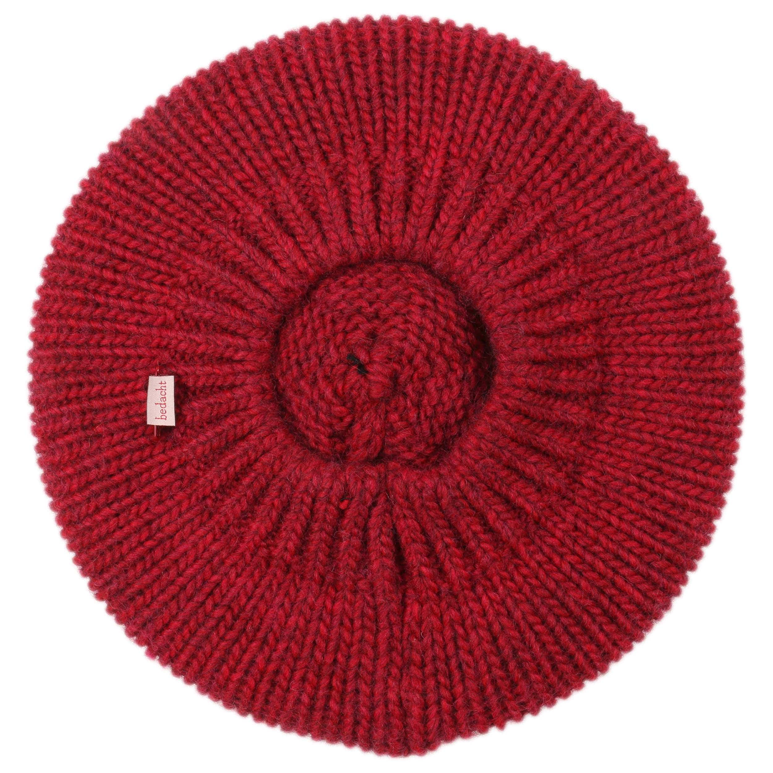 Nemo Knit Beret with Pompom by bedacht, GBP 39,95 --> Hats, caps & bea...