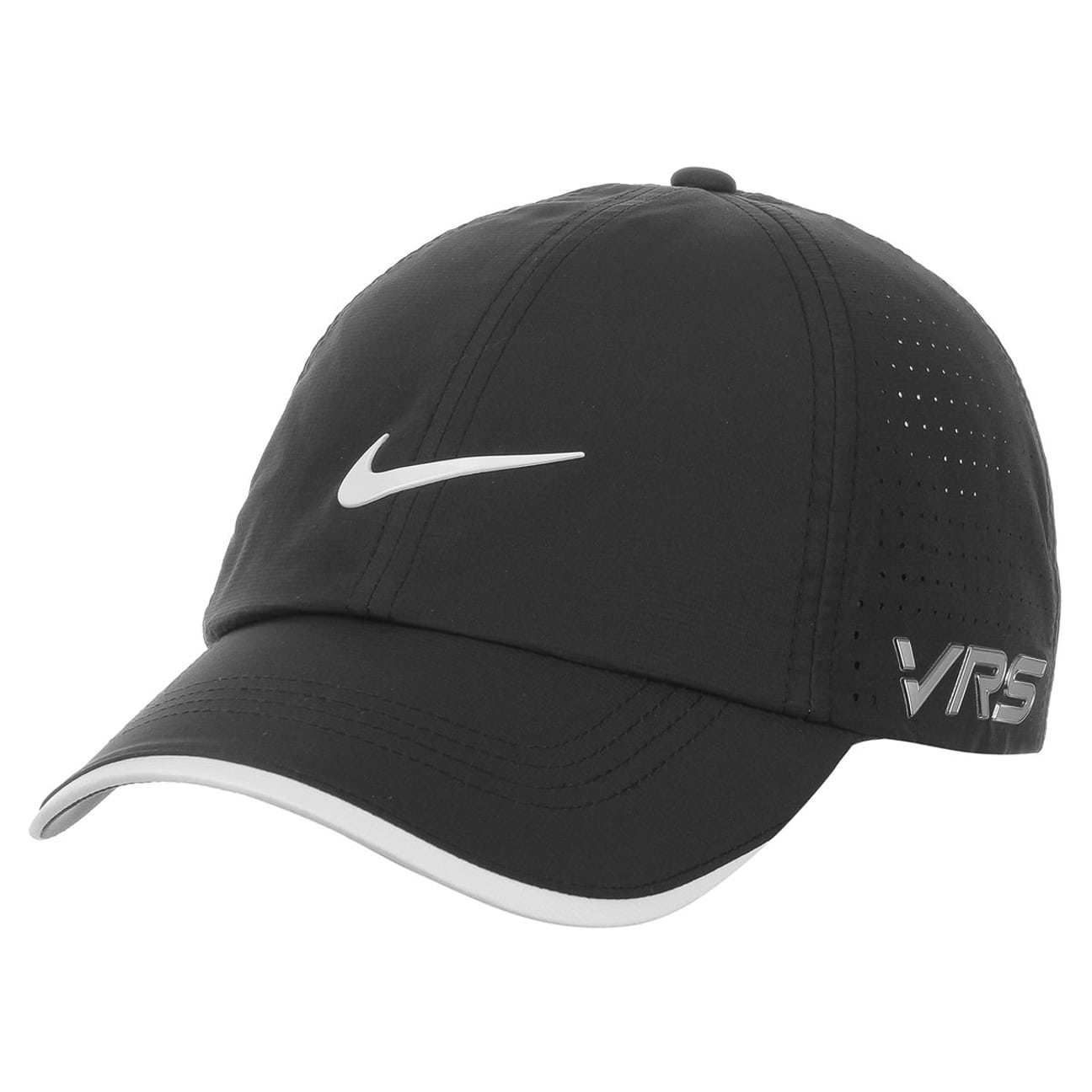 e1000470efe839 ... New Tour Perforated Golf Cap by Nike - black 1 ...