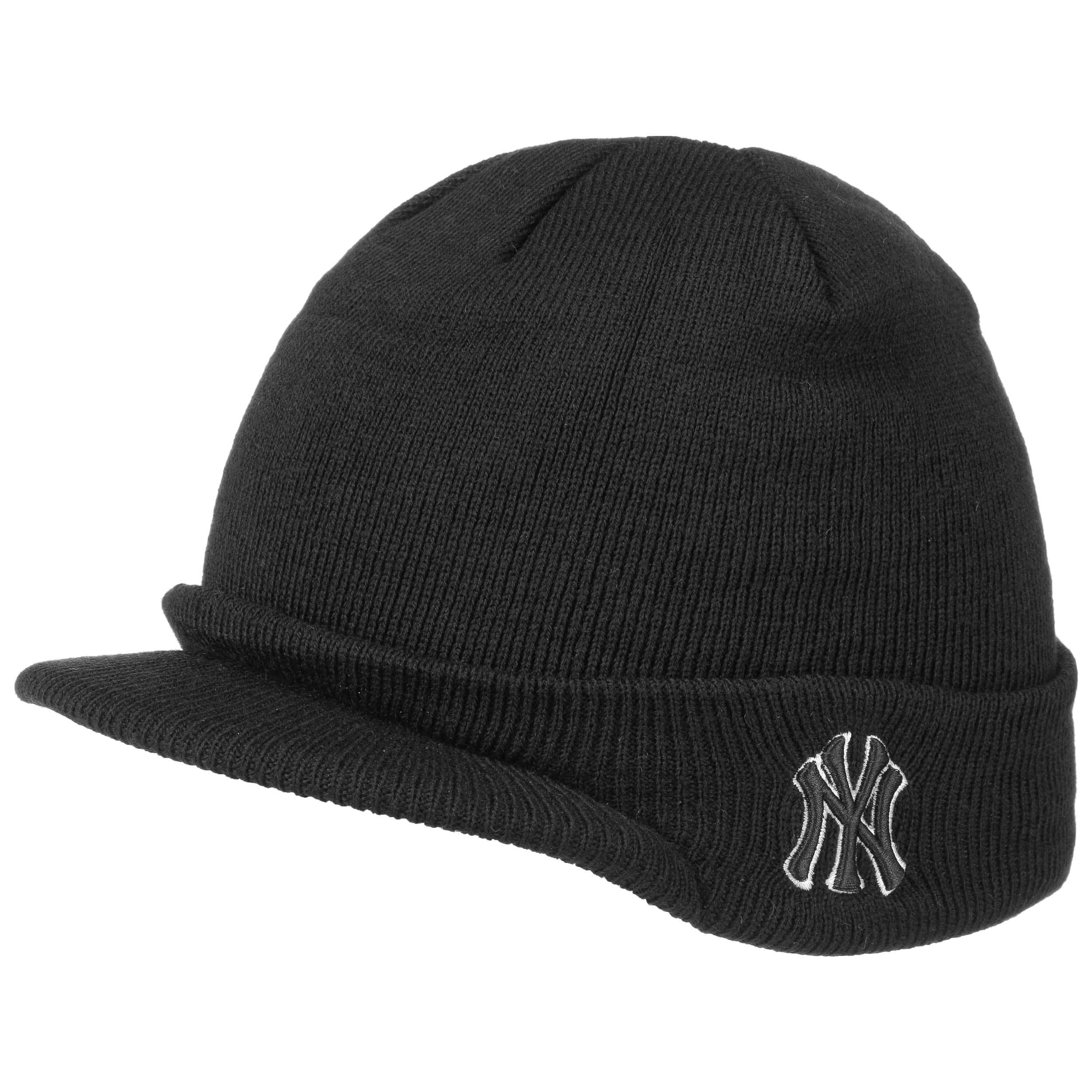 ... New York Yankees Est. 1903 Visor Beanie - black 4 dca5795ab1b