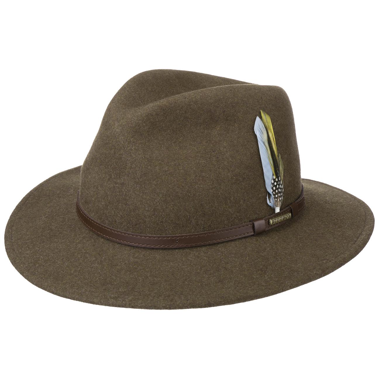 a375e4c851400 ... Newberg VitaFelt Traveller Hat by Stetson - brown 5 ...