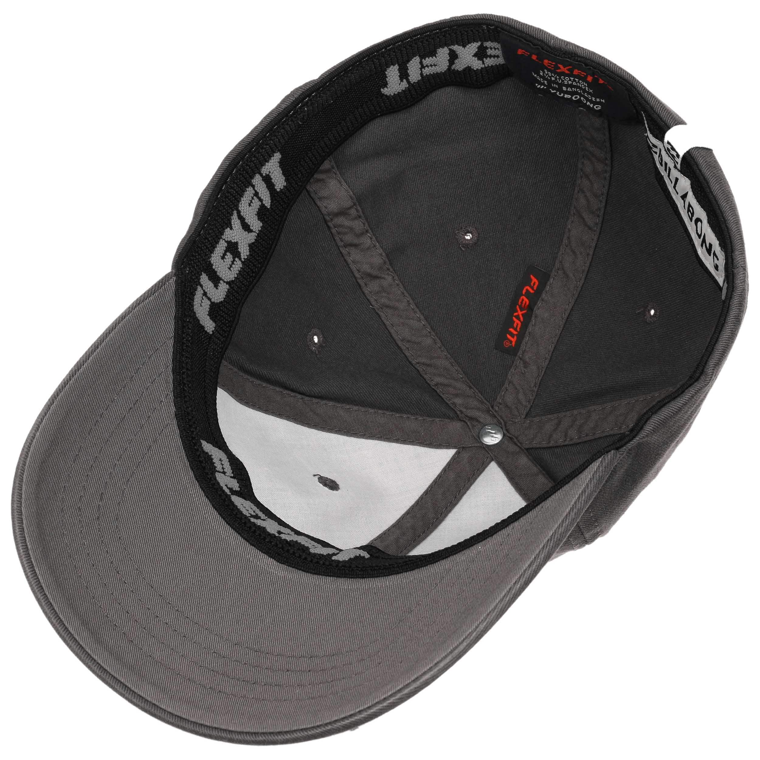 competitive price 2c268 64ad5 ... coupon code for newport flexfit cap by billabong anthracite 2 fec70  a50fe