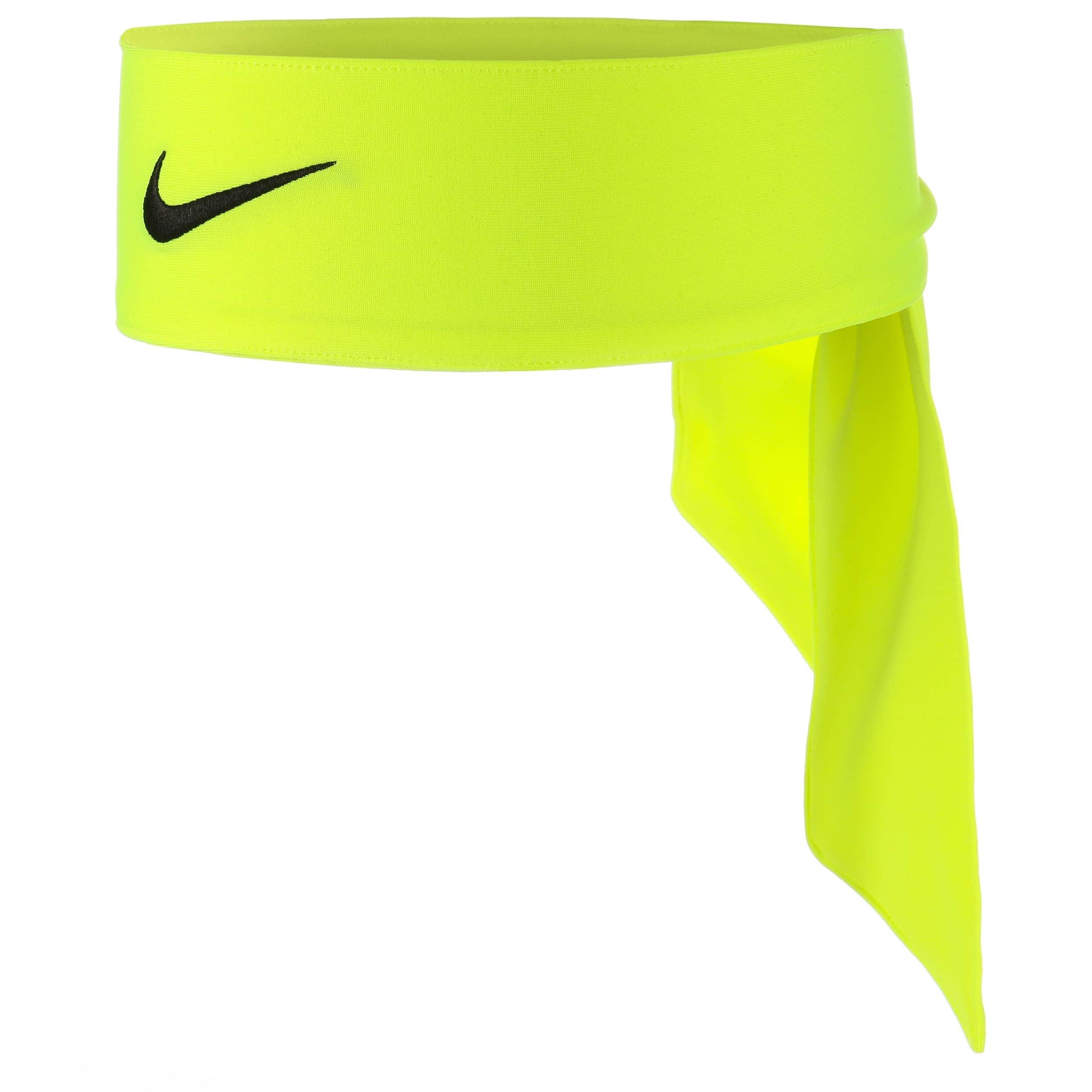 ... Nike Dri-Fit Head Tie 2.0 Headband by Nike - neon yellow 4 ... 6b5c2702cd9