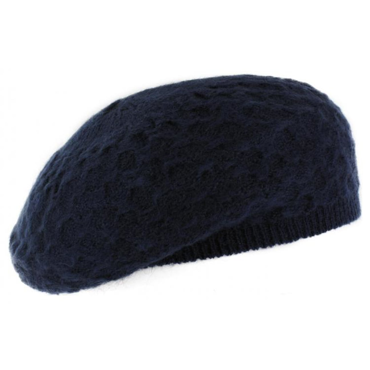 Free Knitting Pattern Mohair Beret : Niokolo Mohair Knit Beret by McBURN, EUR 14,95 --> Hats, caps & beanie...