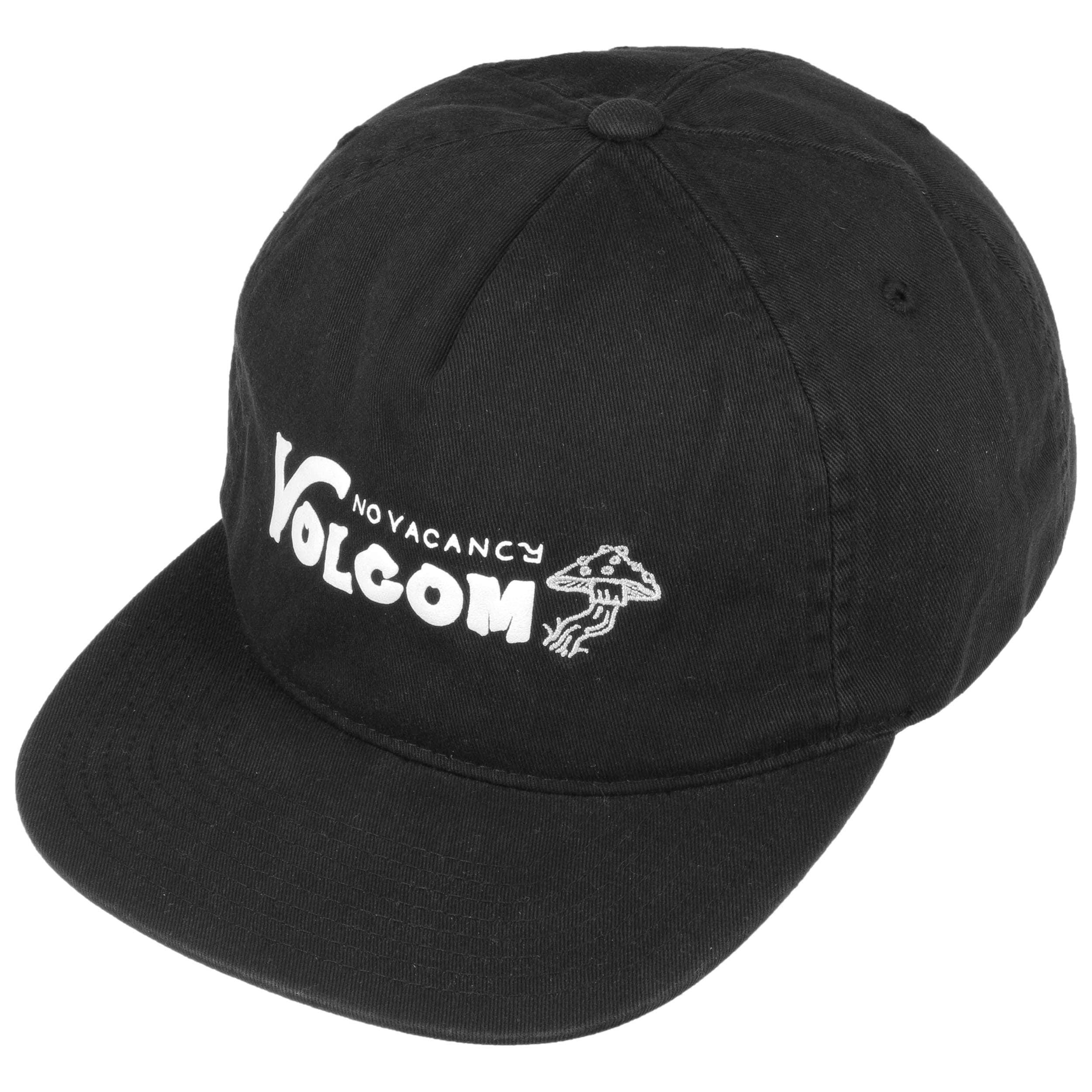 dfb31e1b1277f ... inexpensive no vacancy snapback cap by volcom black 1 5087b 670c9