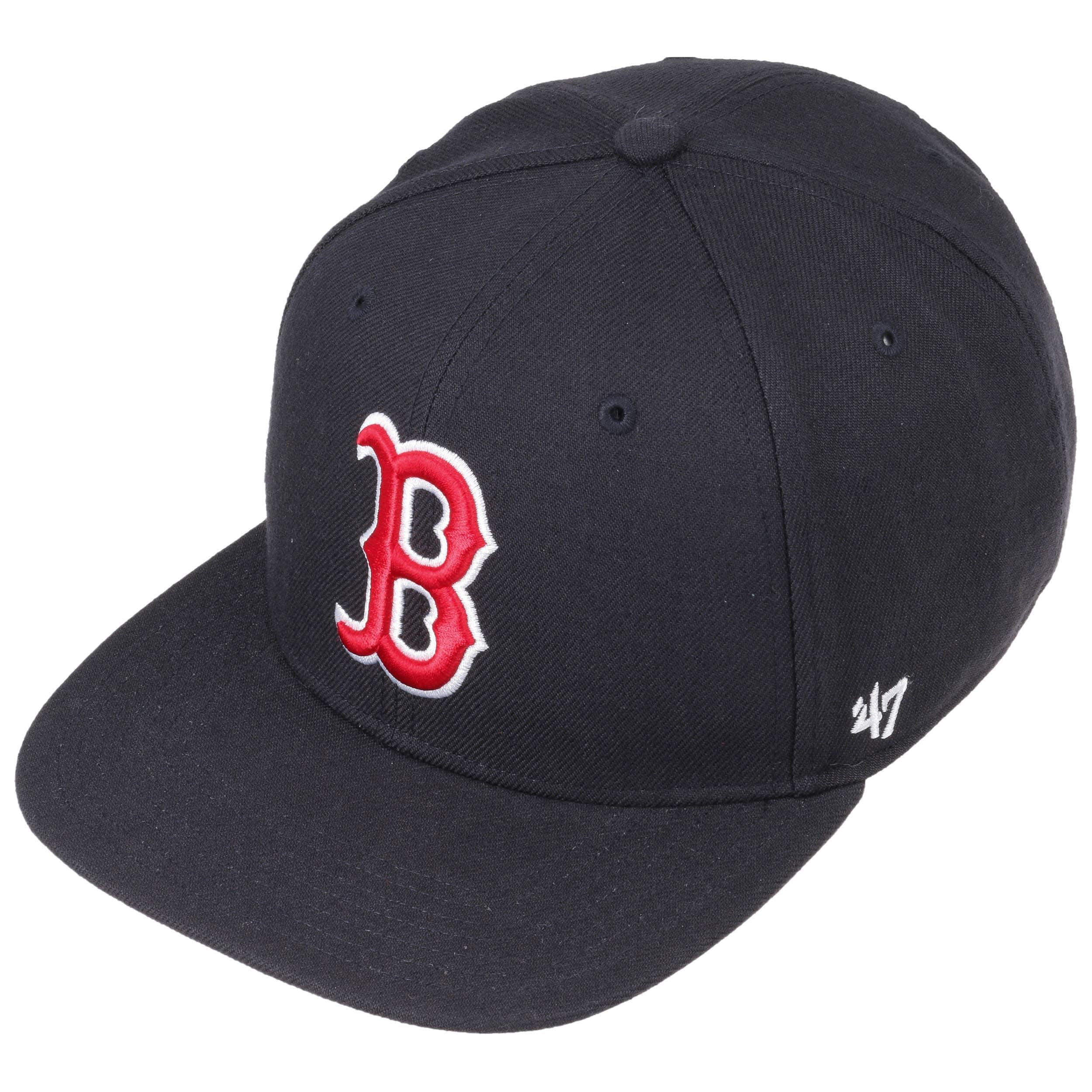 74f895c11b2 NoShot Red Sox Snapback Cap by 47 Brand - navy 1 ...
