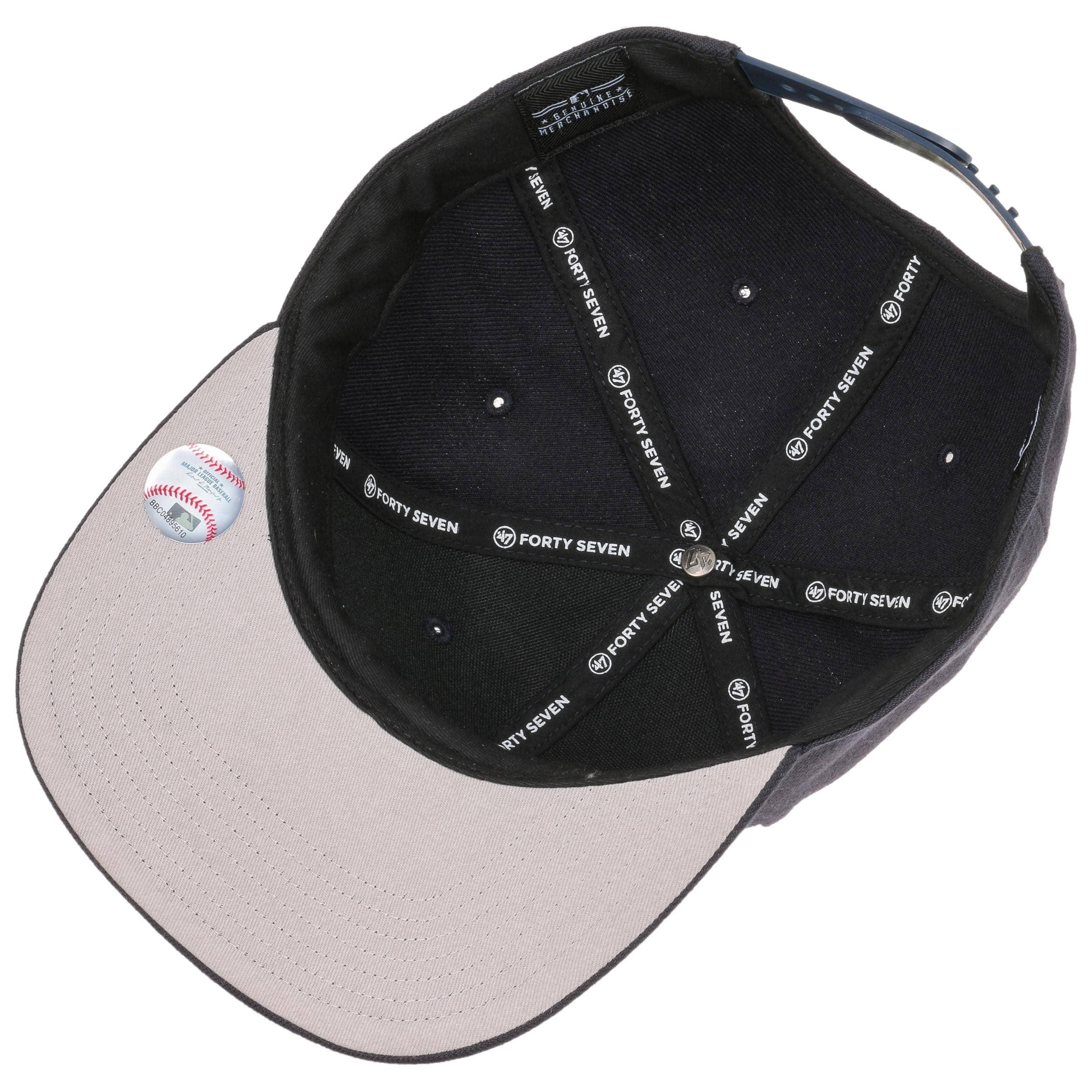 09a3ab1d42b ... NoShot Red Sox Snapback Cap by 47 Brand - navy 2 ...