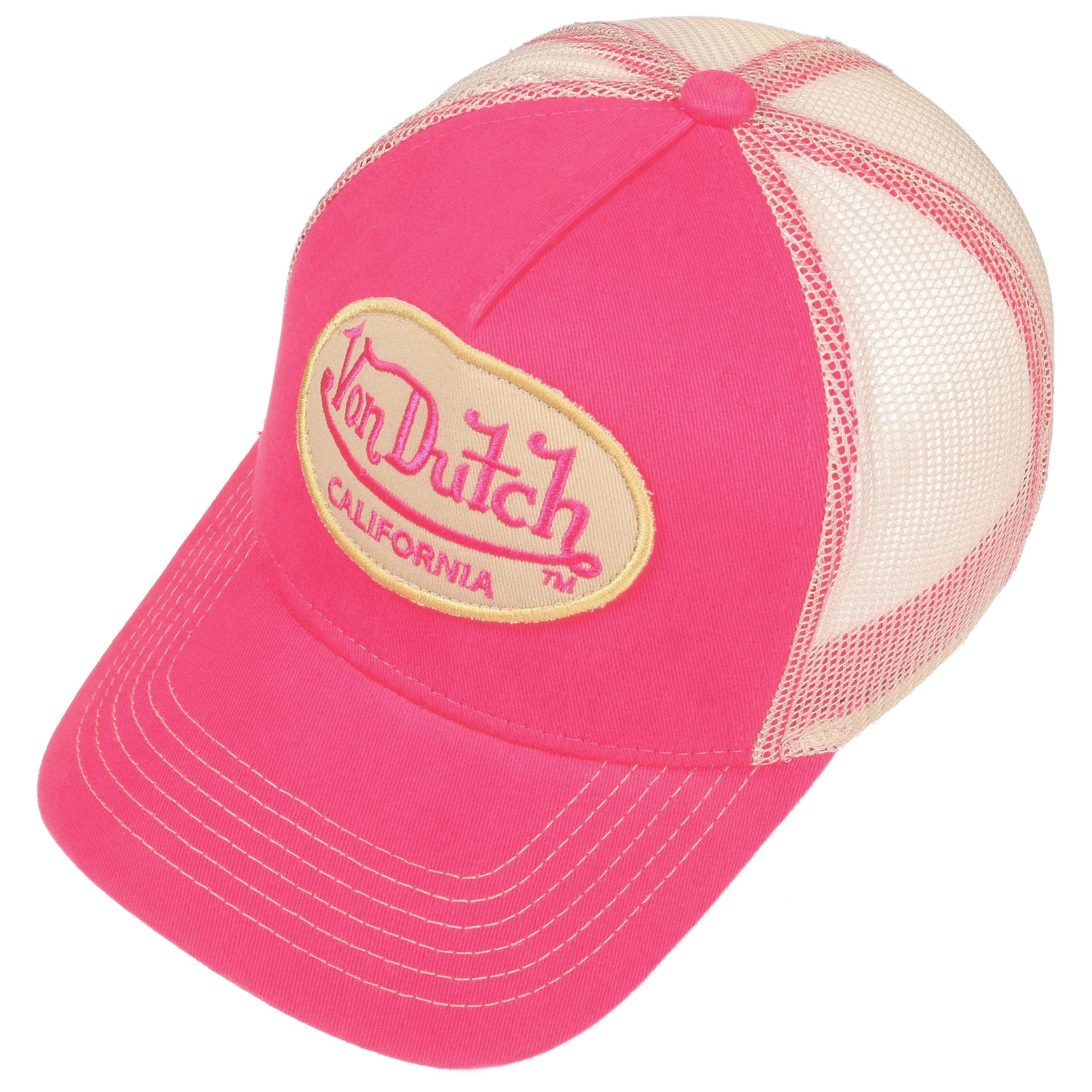 ec12dfc57e2ca ... OG Trucker Cap by Von Dutch - pink 1 ...