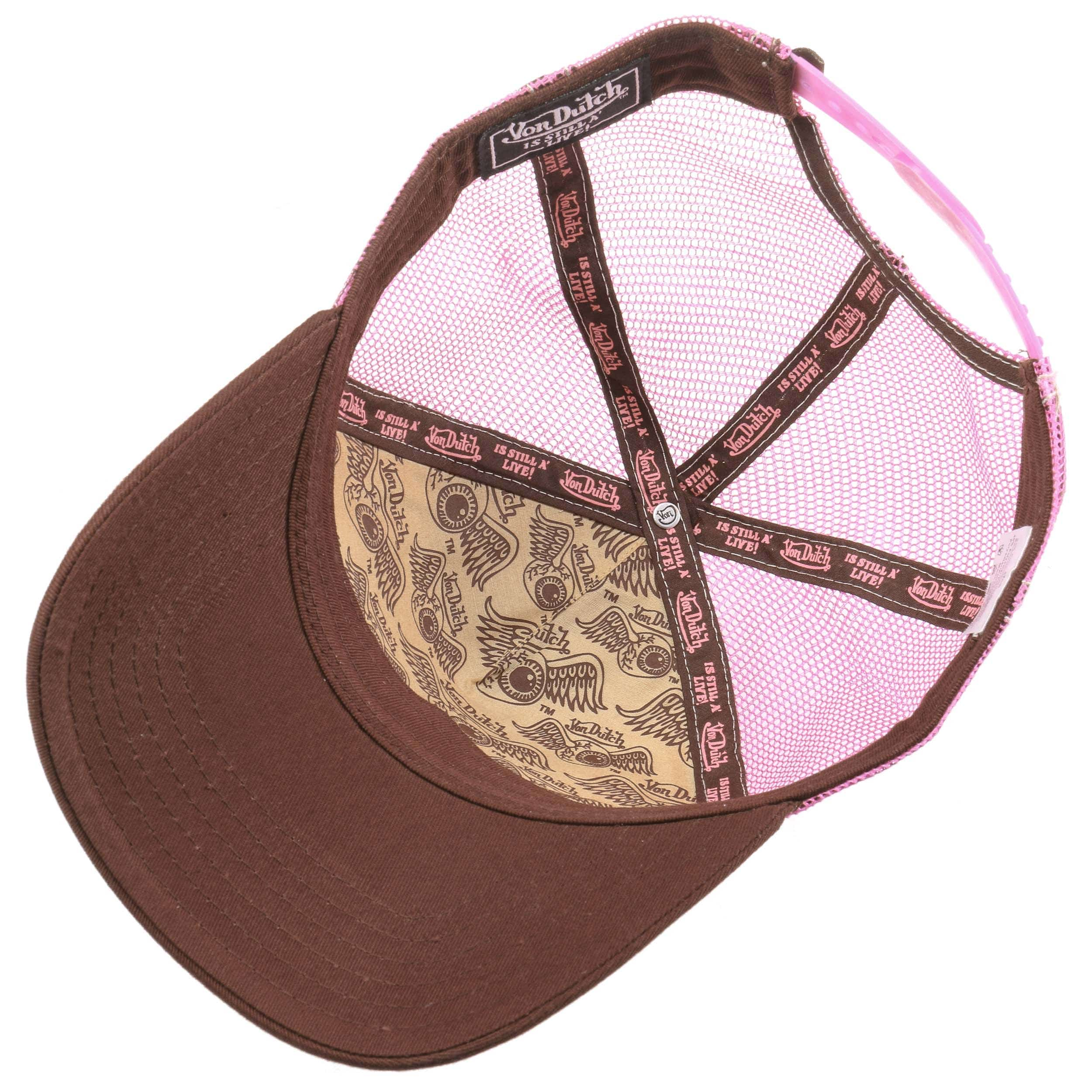 ... OG Women´s Trucker Cap by Von Dutch - brown 3 ... cb88e6155028